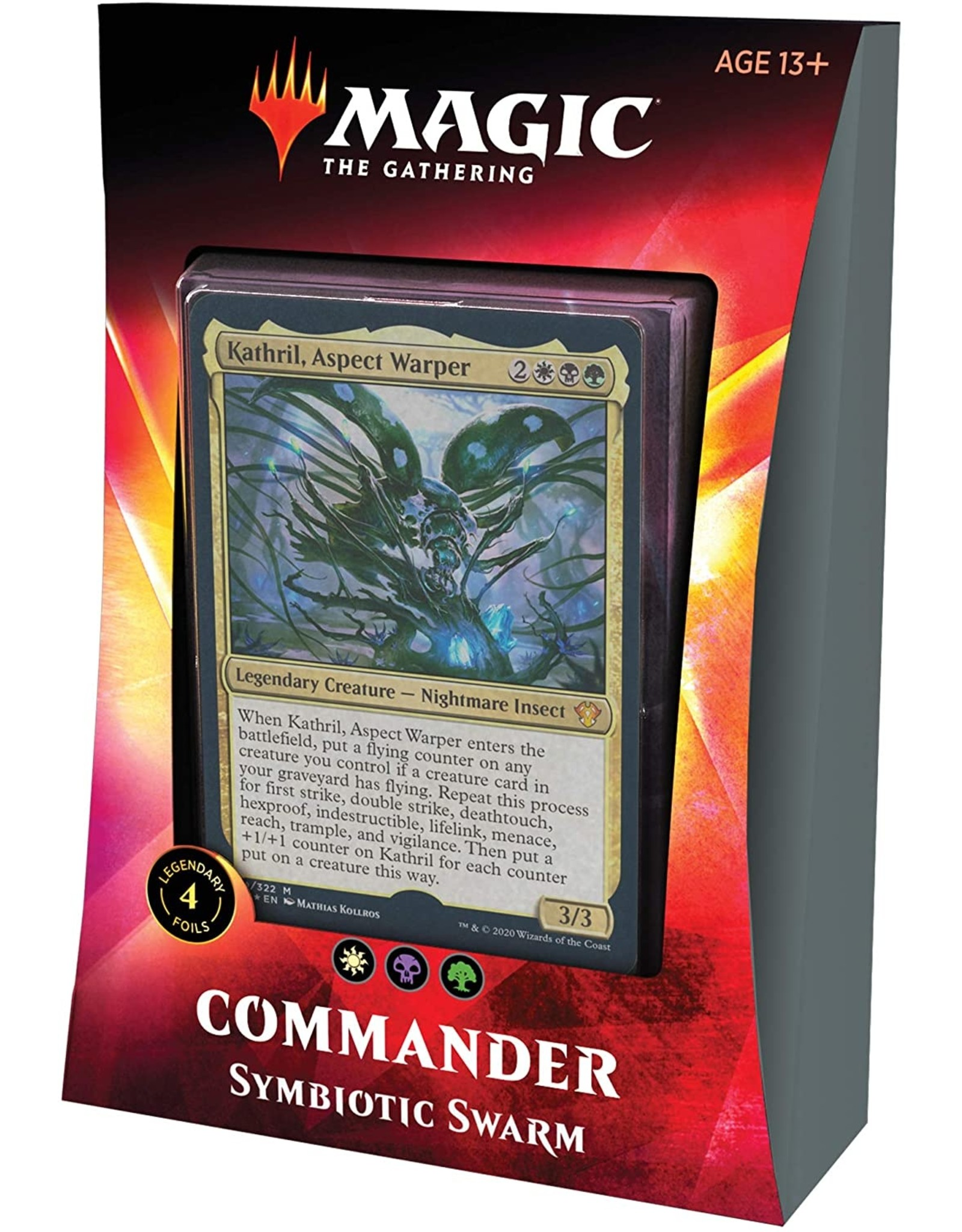 Wizards of the Coast Commander 2020 Symbiotic Swarm