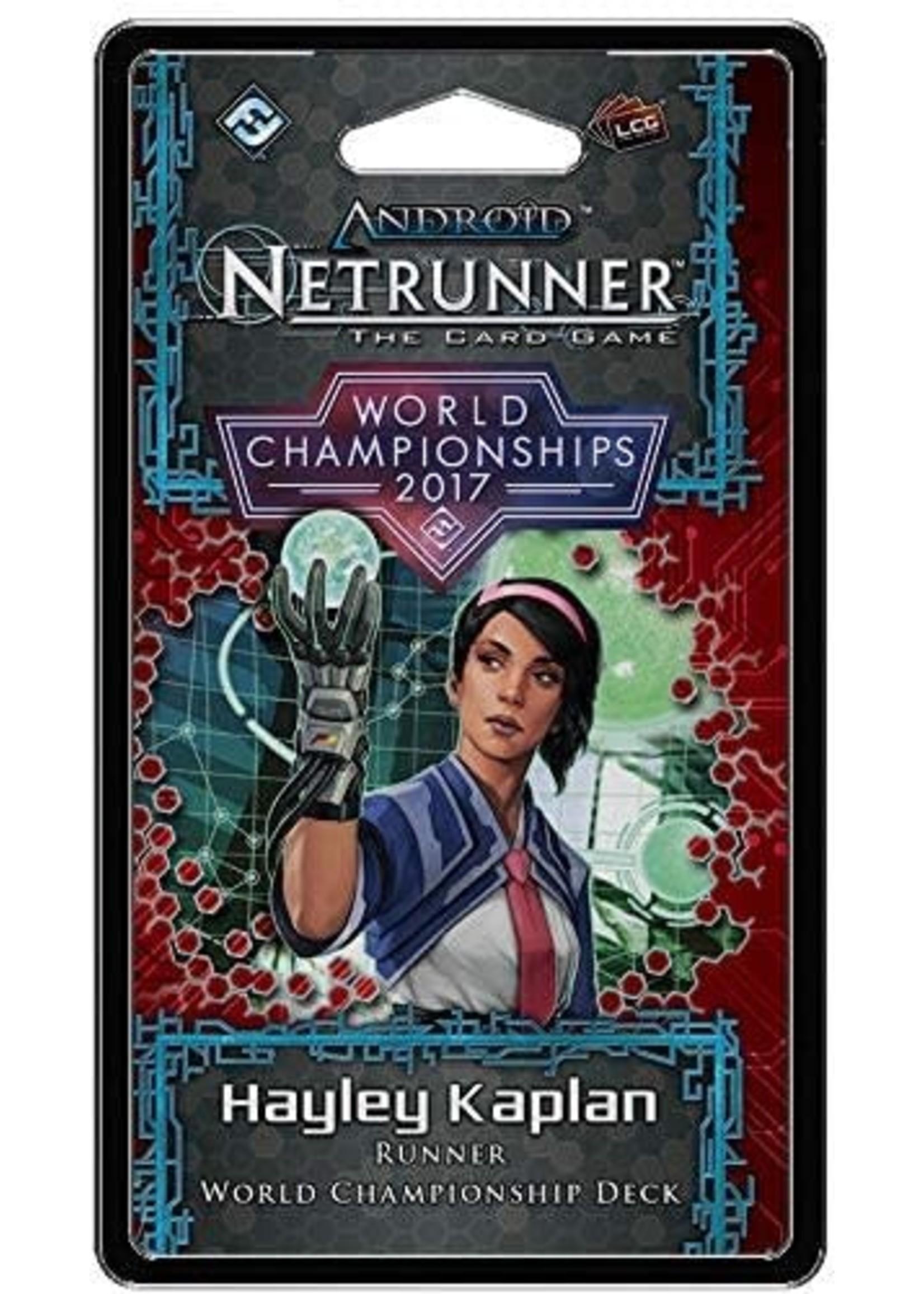 Android Netrunner 2017 World Championship Runner Deck