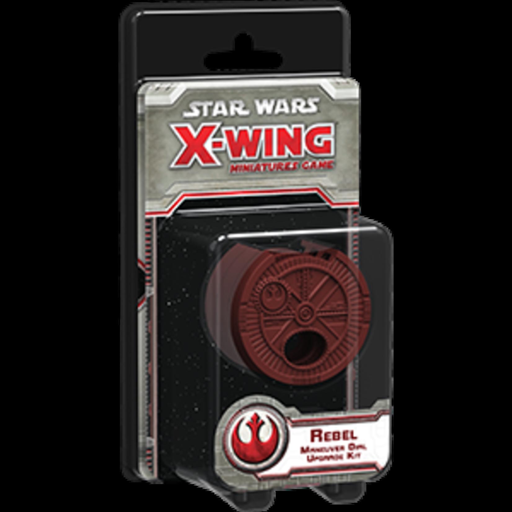Star Wars X-Wing Miniatures Game Rebel Maneuver Dial