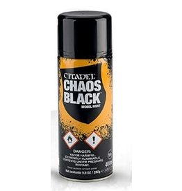 Citadel Paint: Chaos Black Spray Paint 10oz