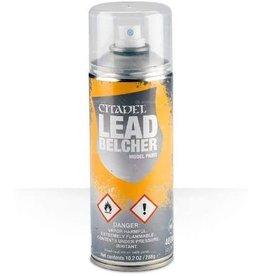 Games Workshop Citadel Paint: Leadbelcher Spray Paint 10oz