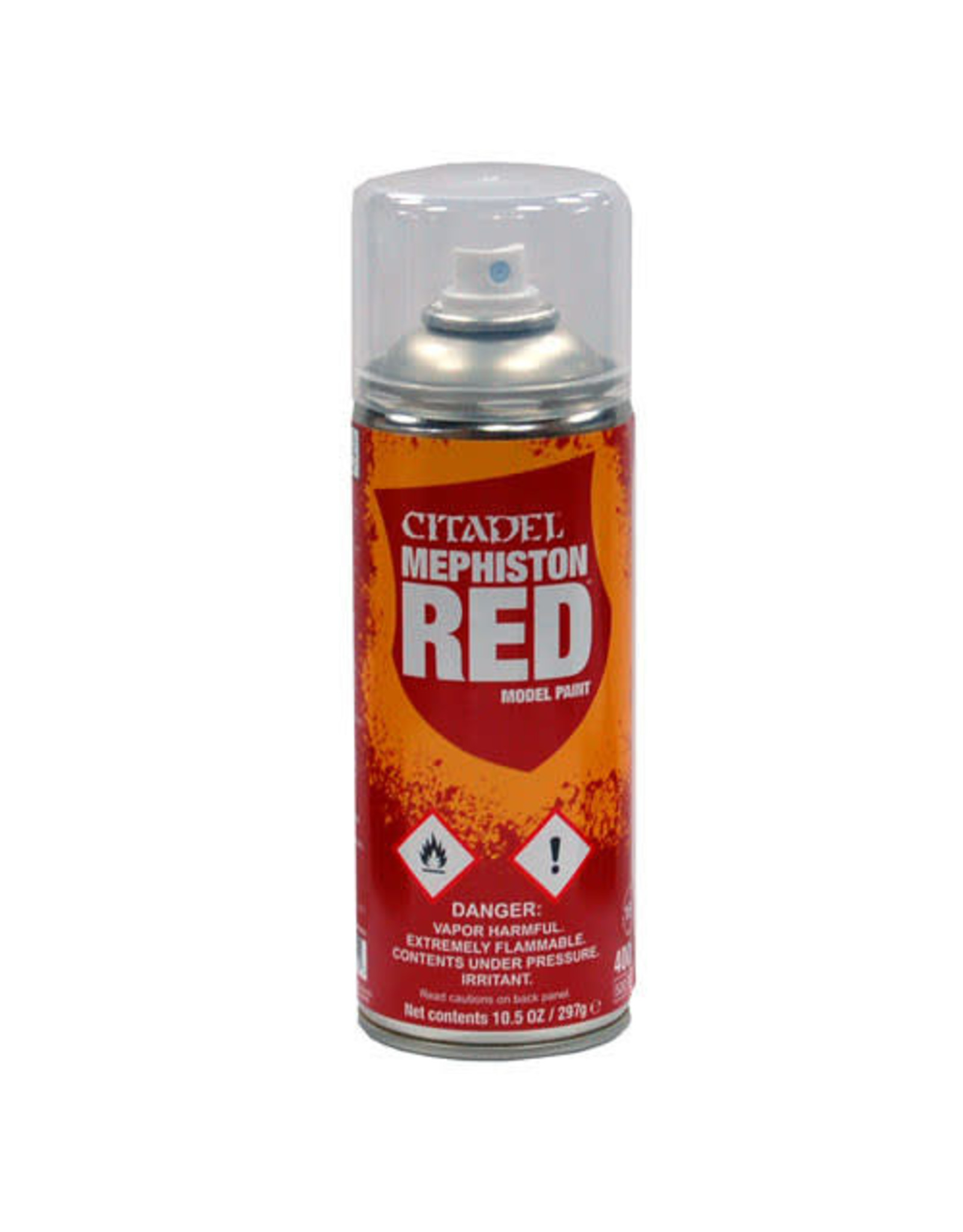 Games Workshop Citadel Paint: Mephiston Red Spray Paint 10oz
