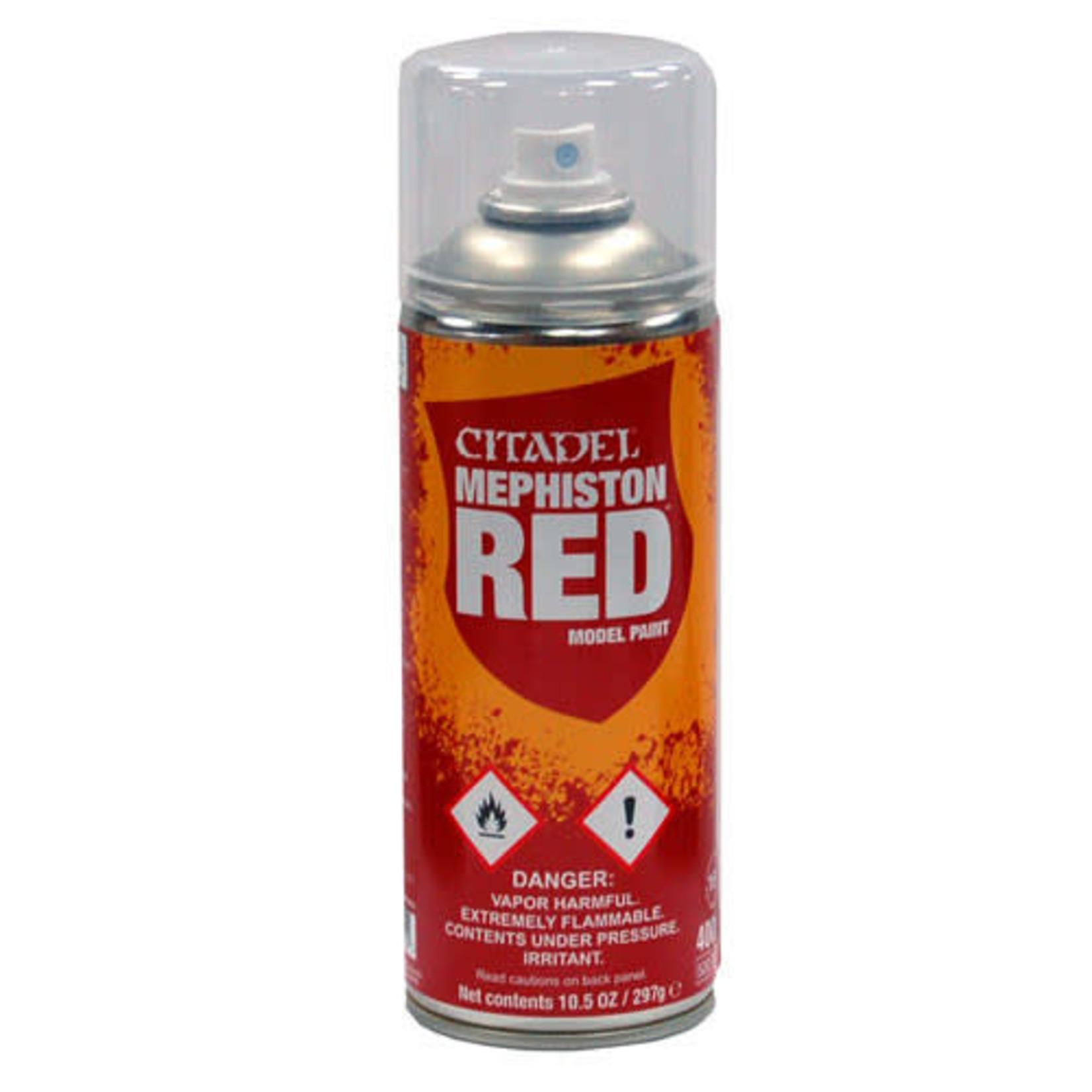 Games Workshop Citadel Paint: Mephiston Red Spray Paint 10oz