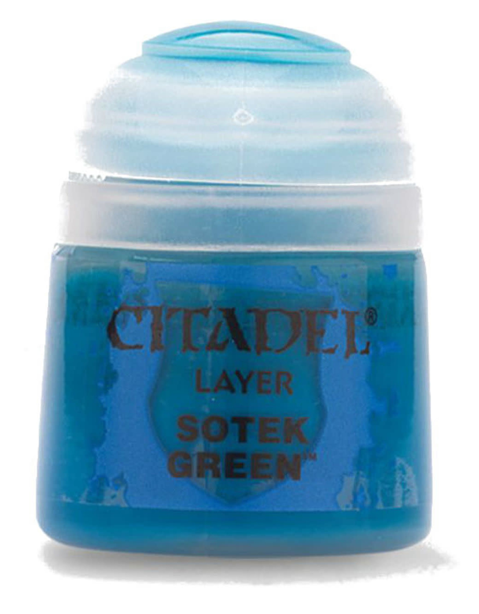 Games Workshop Citadel Paint: Sotek Green 12ml