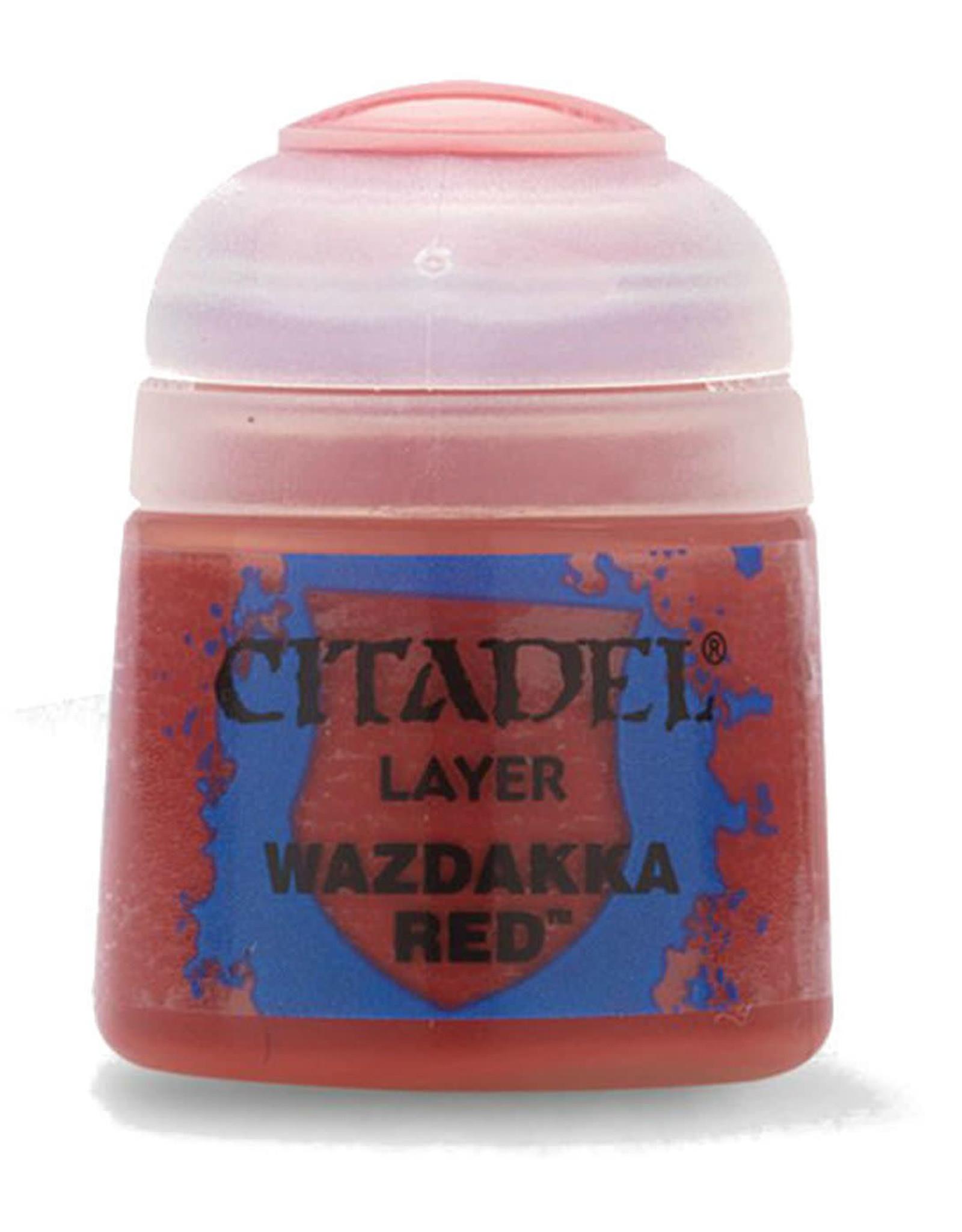 Games Workshop Citadel Paint: Wazdakka Red 12ml
