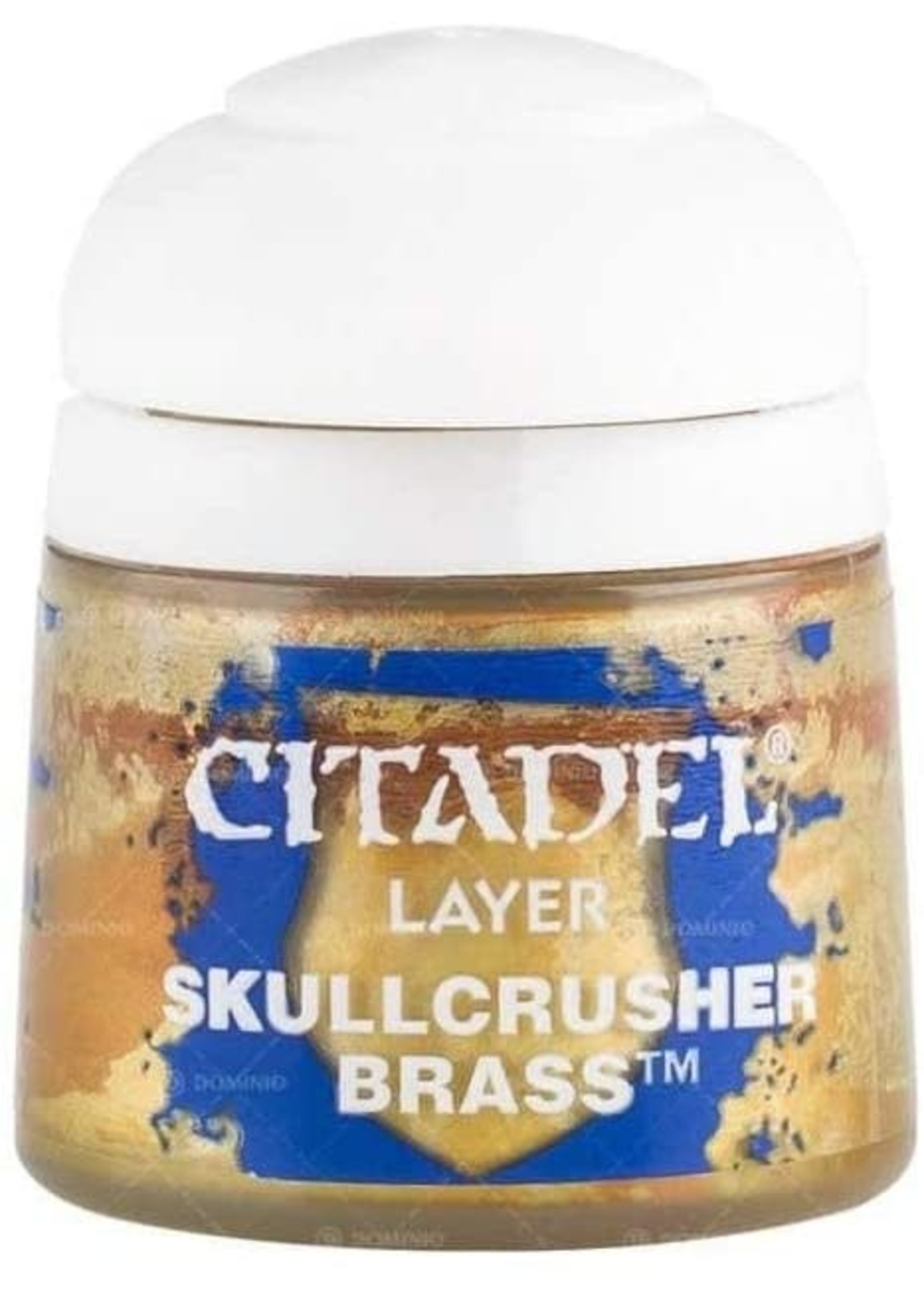 Games Workshop Citadel Paint: Skullcrusher Brass 12ml