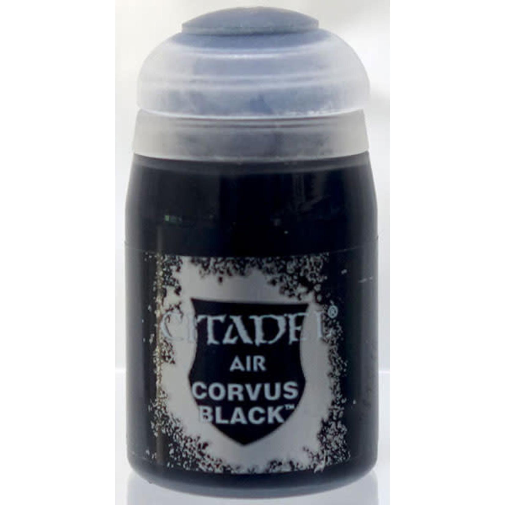 Games Workshop Citadel Paint: Corvus Black Air (24 ml)