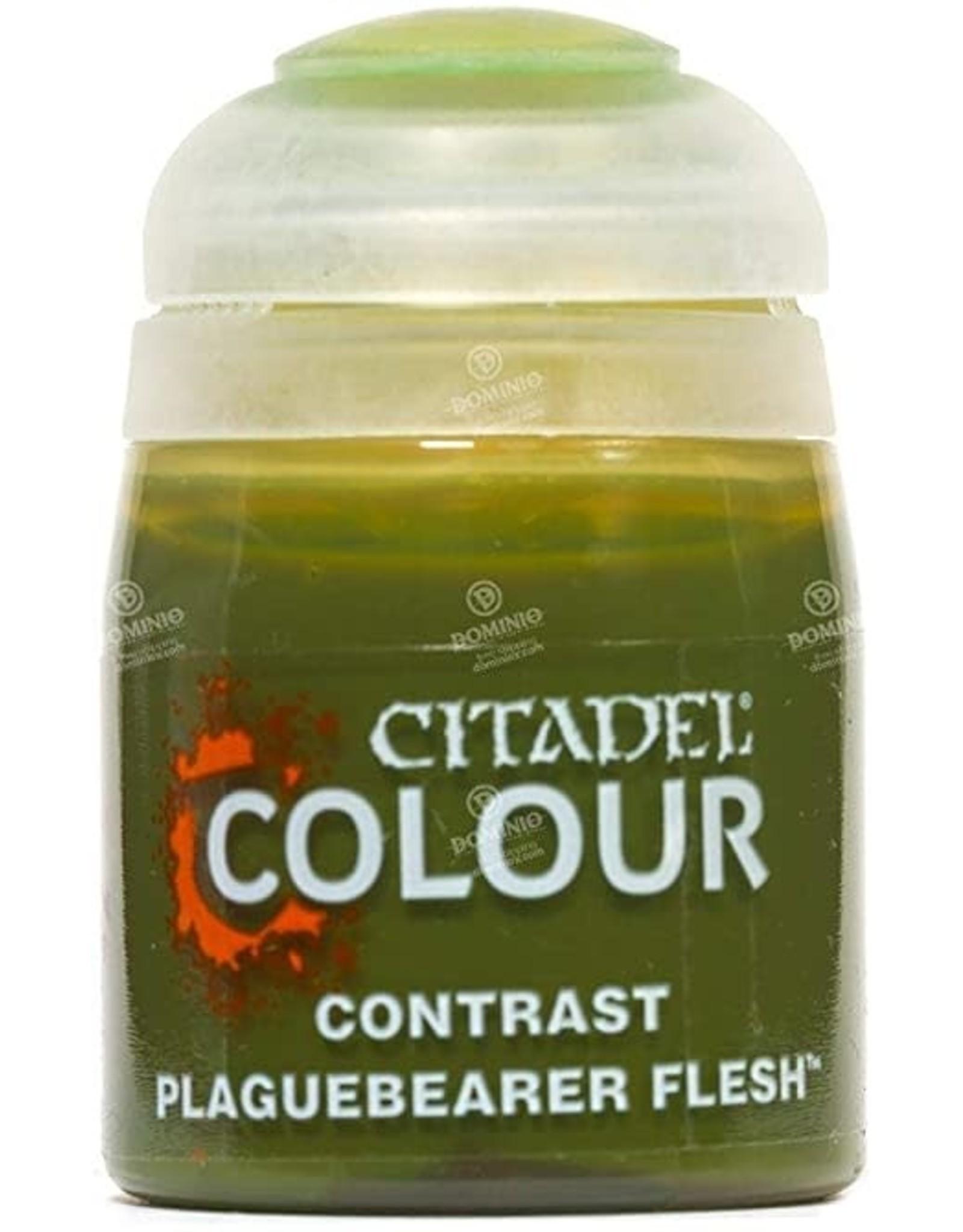 Games Workshop Citadel Paint: Plaguebearer Flesh Contrast (18 ml)