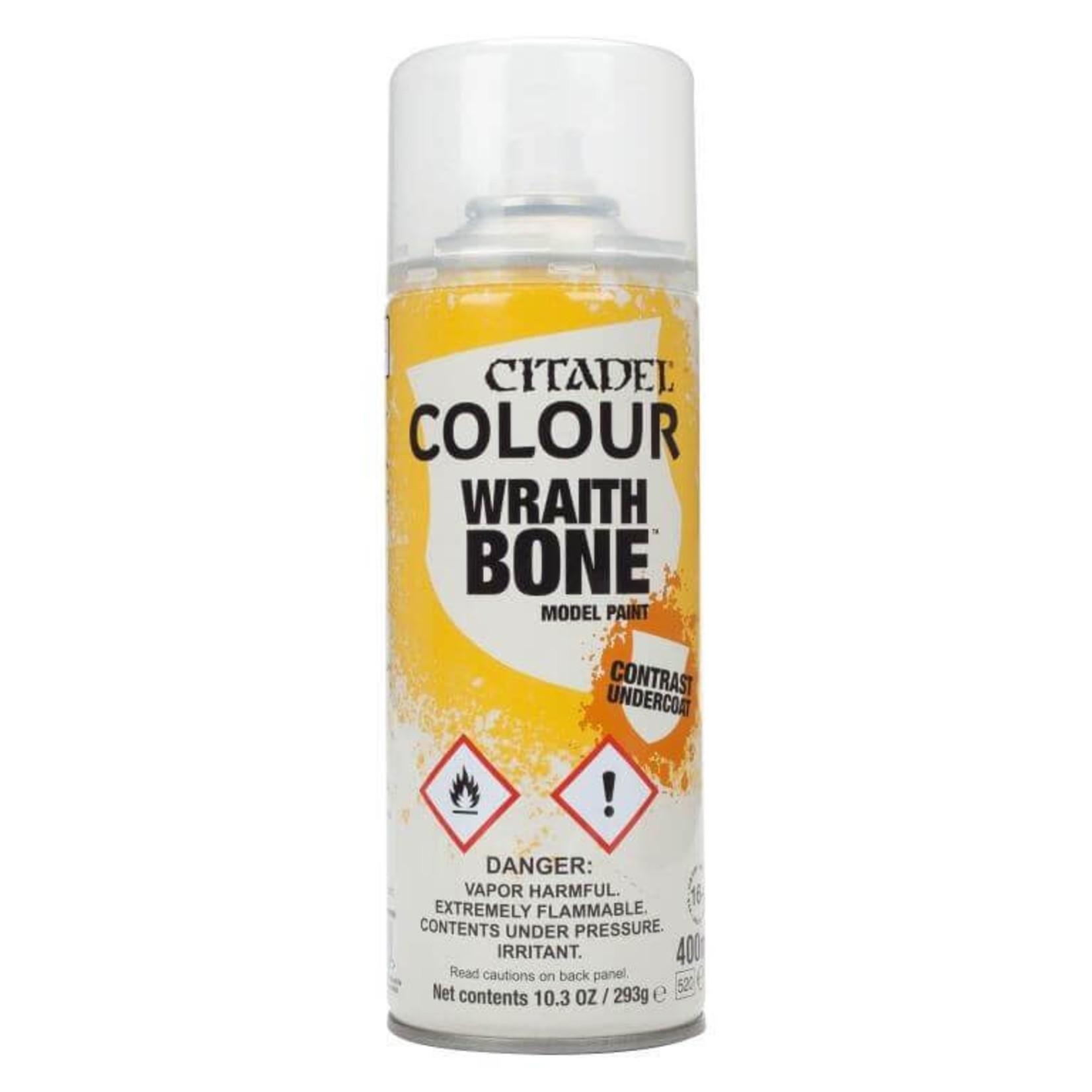 Games Workshop CItadel Paint: Wraithbone Contrast Spray (400 ml)