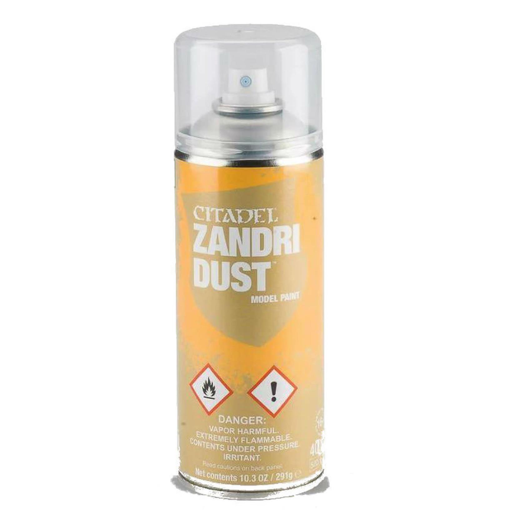 Games Workshop Citadel Paint: Zandri Dust Spray Paint 10oz