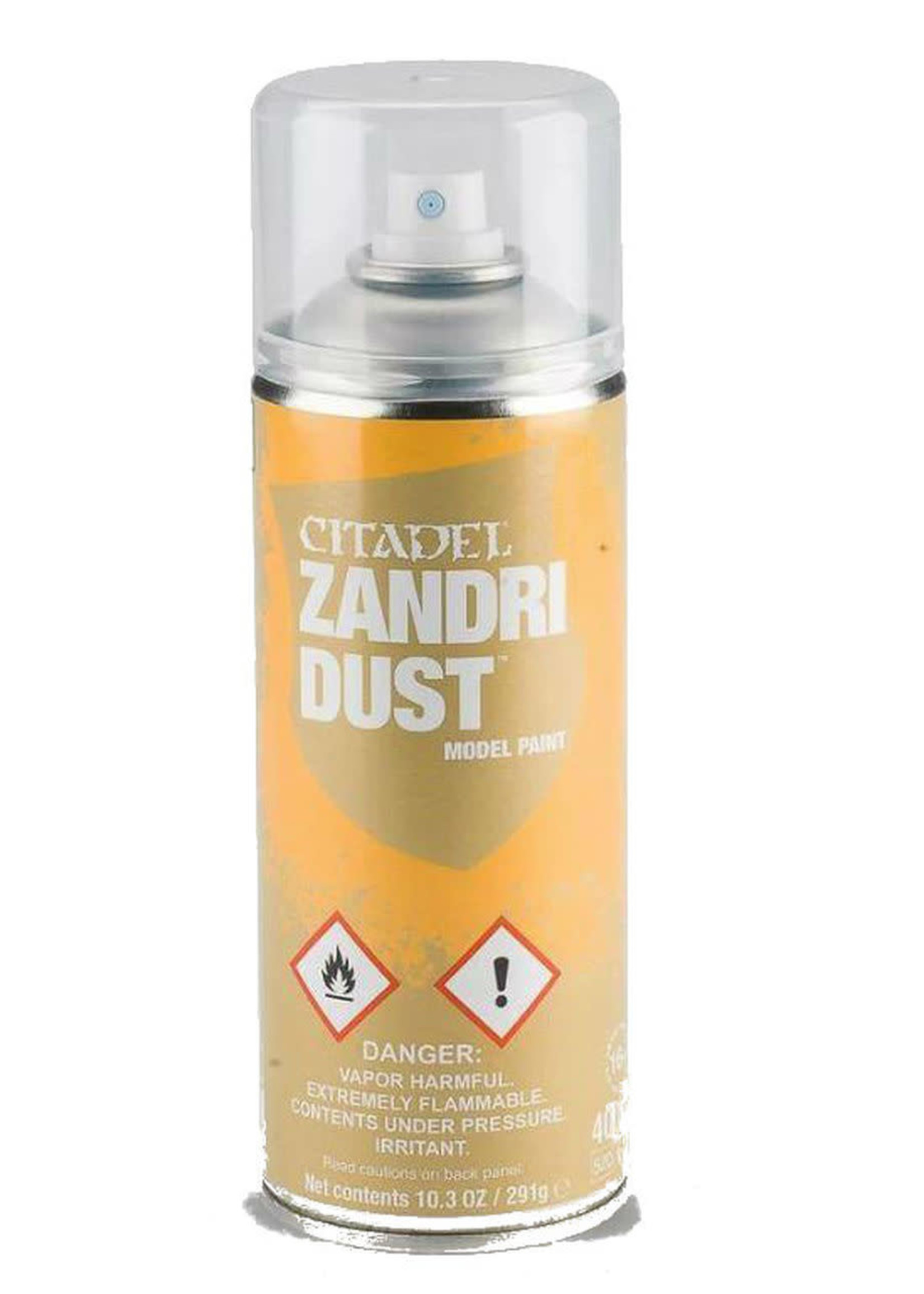 Games Workshop Citadel Paint: Zandri Dust Spray Paint 10oz