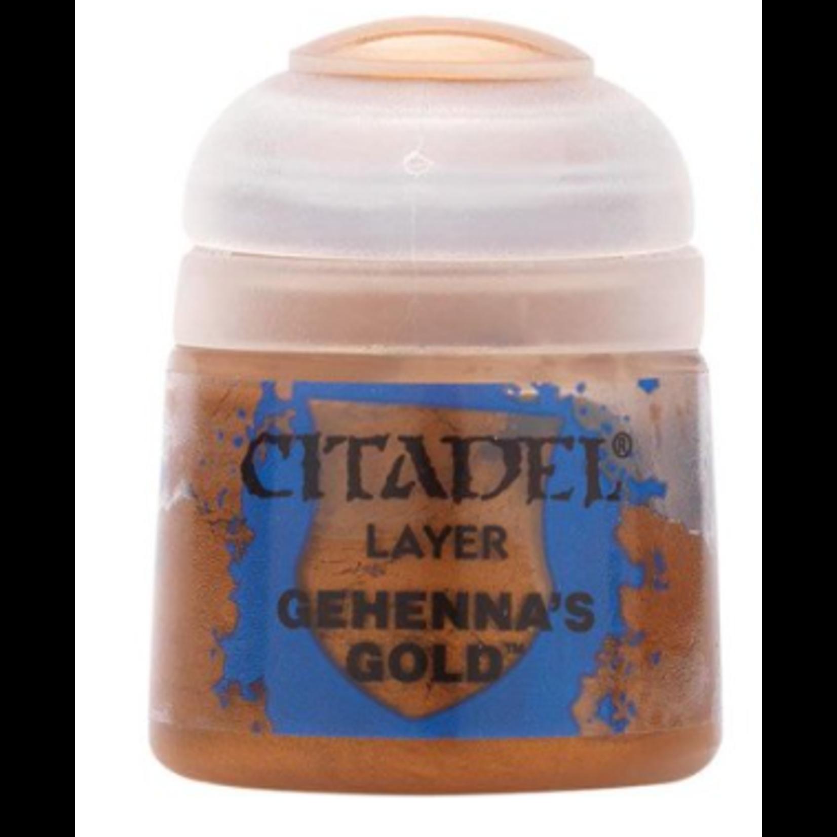 Games Workshop Citadel Paint: Gehenna's Gold 12ml