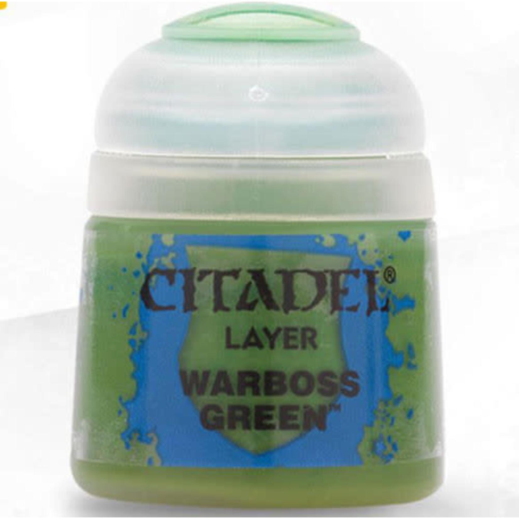 Games Workshop Citadel Paint: Warboss Green 12ml