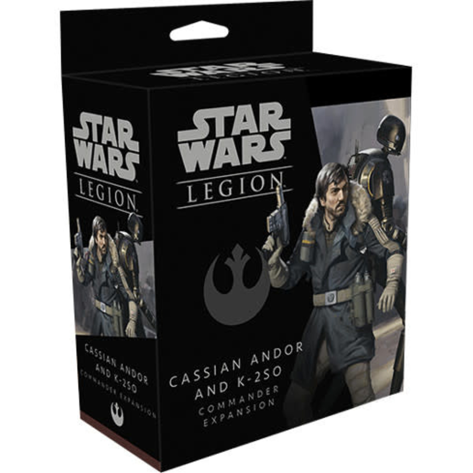 Asmodee Star Wars Legion: Cassian Andor and K-2SO Commander Expansion