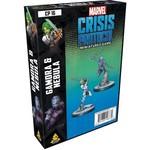 Asmodee Marvel Crisis Protocol - Gamora and Nebula Character Pack