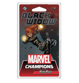 Asmodee Marvel Champions LCG: Black Widow Hero Pack