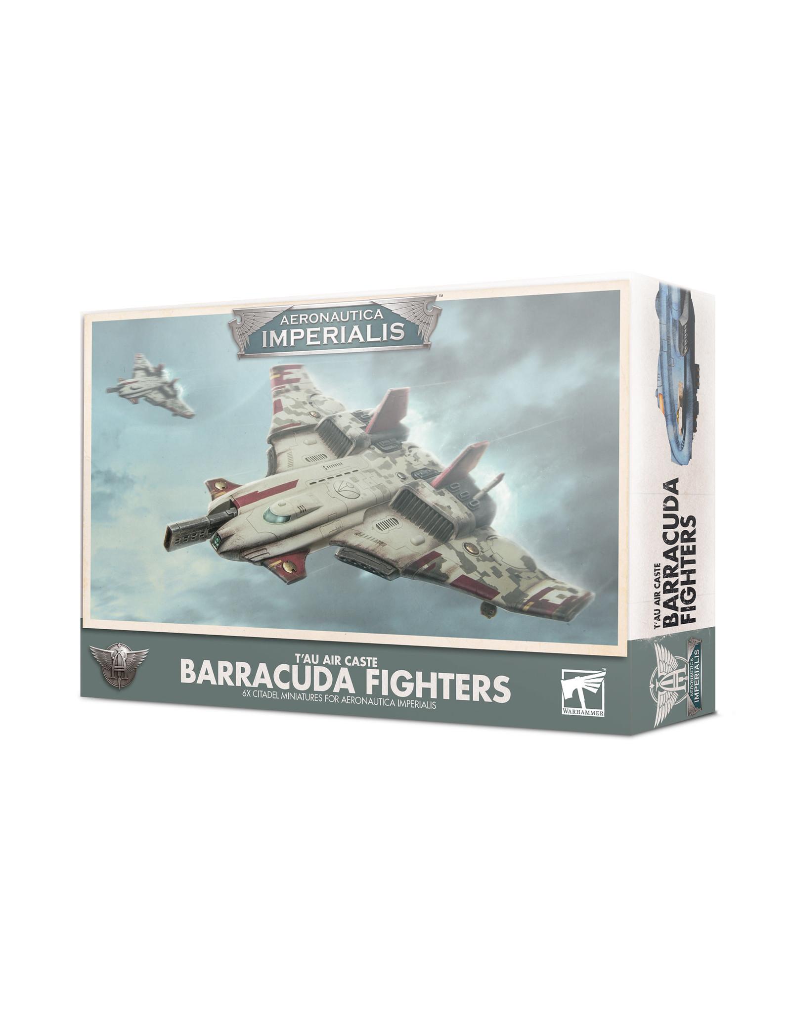 Games Workshop Aeronautica Imperialis: T'au Air Caste Barracuda Fighters