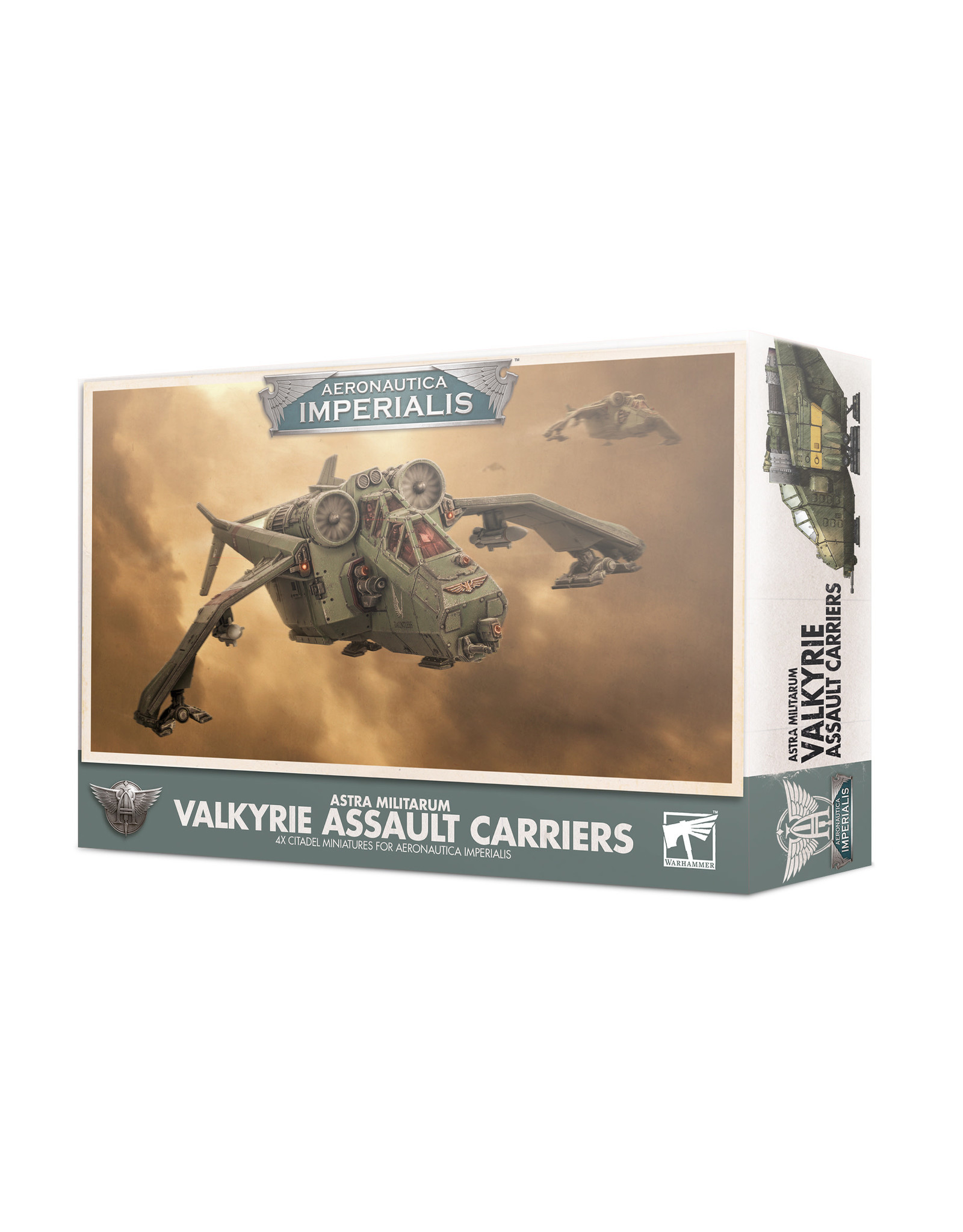 Games Workshop Aeronautica Imperialis: Aeronautica Imperialis: Valkyrie Assault Carriers