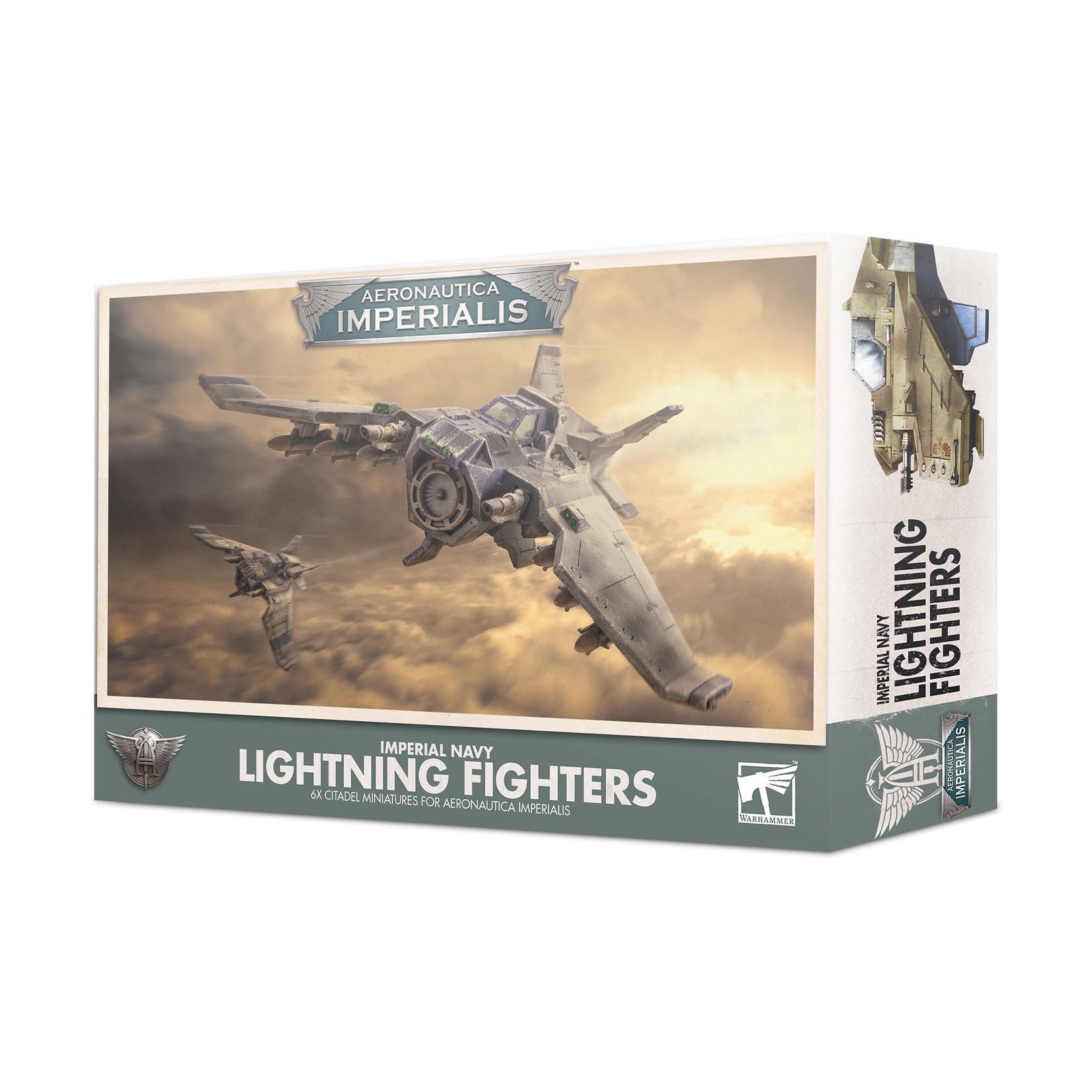 Games Workshop Aeronautica Imperialis: Imperial Navy Lightning Fighters