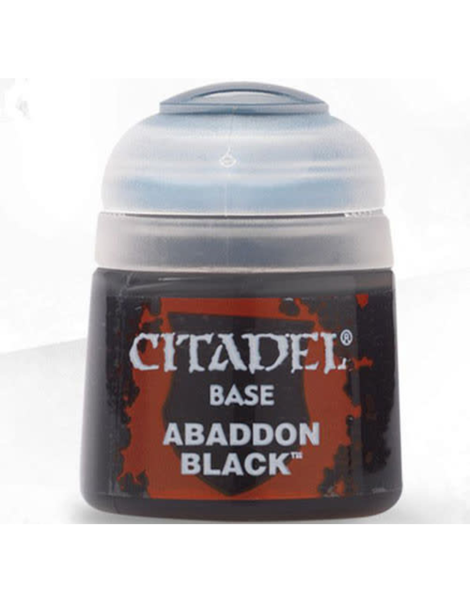 Games Workshop Citadel Paint: Abaddon Black 12ml