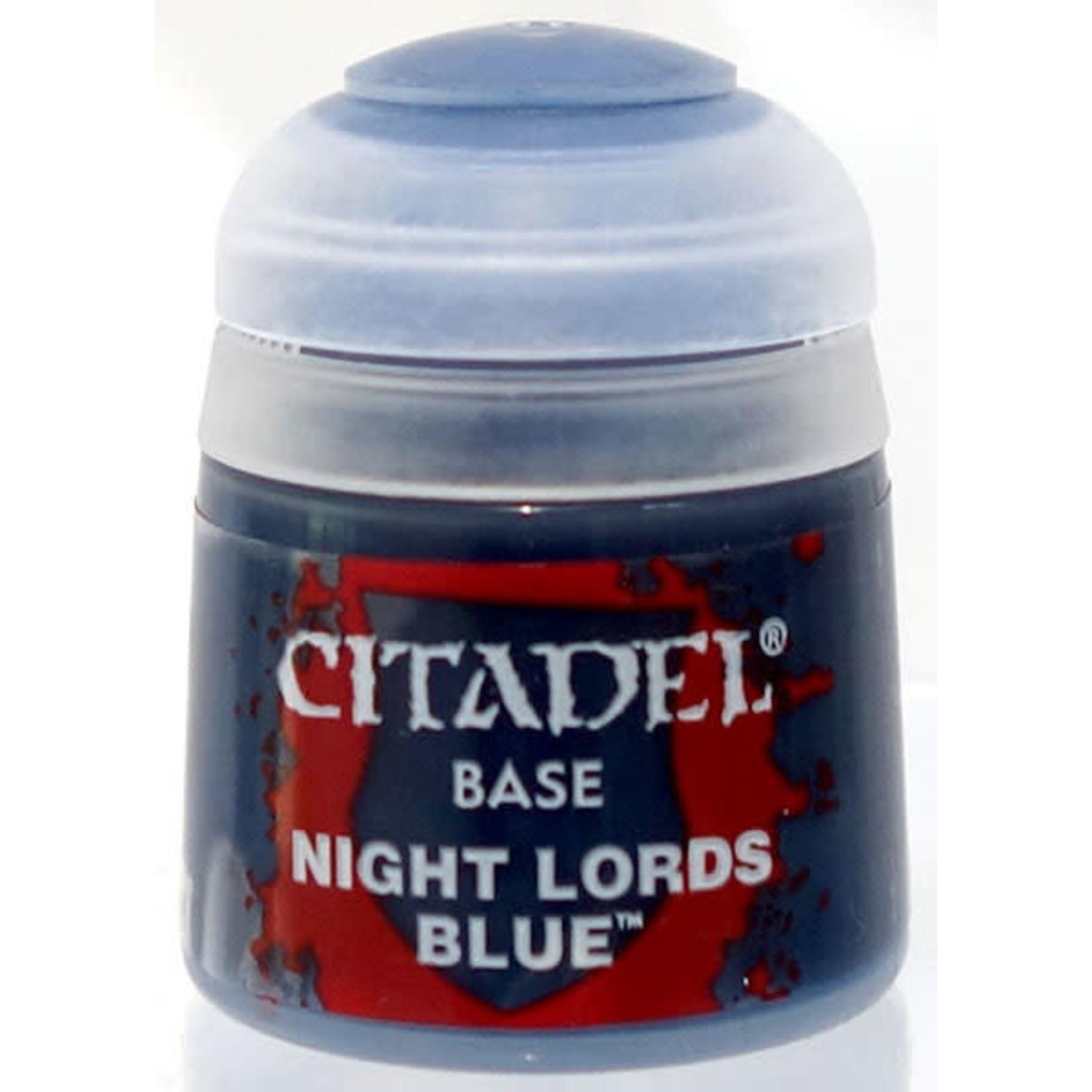 Games Workshop Citadel Paint: Night Lords Blue 12ml