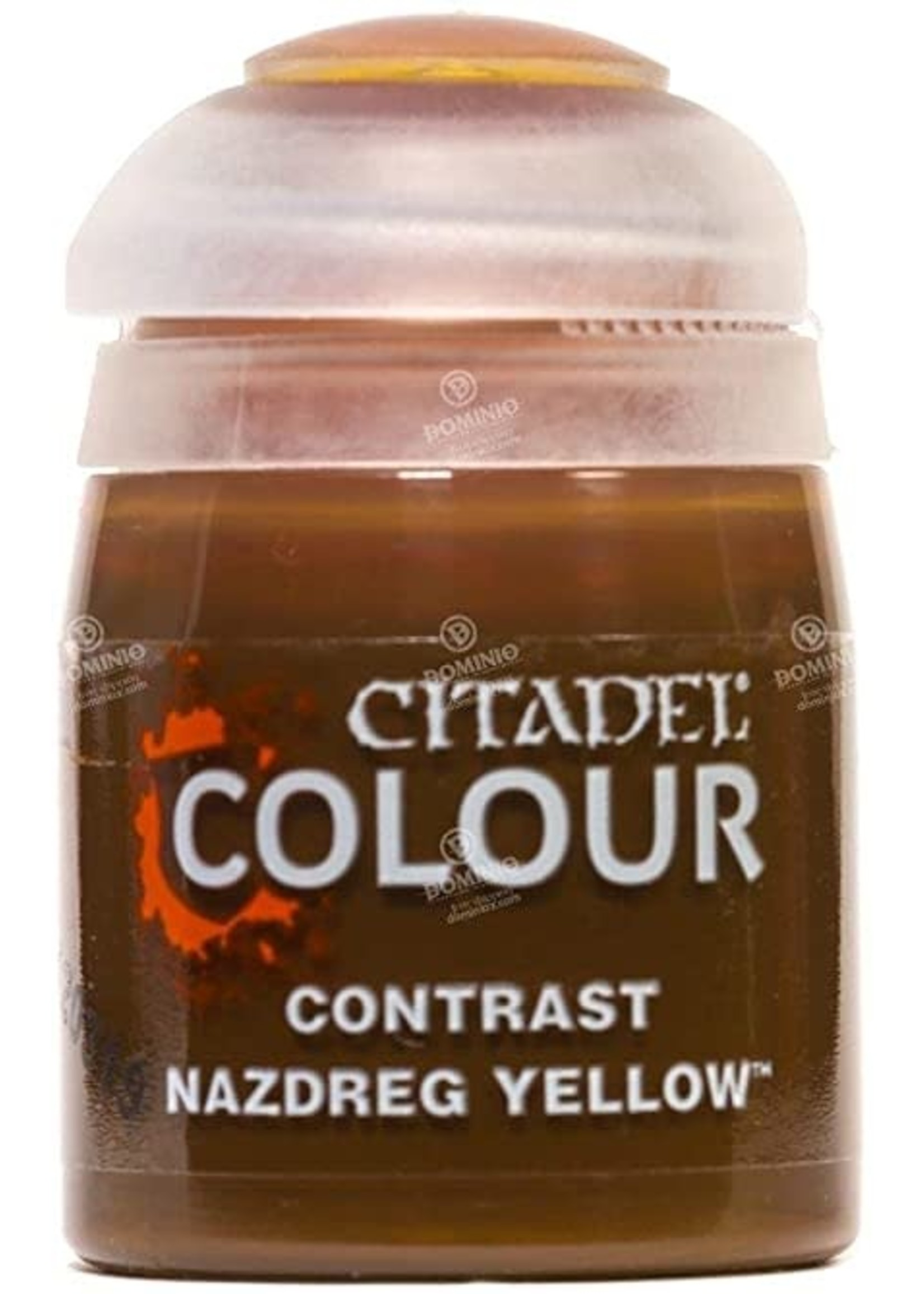 Games Workshop Citadel Paint: Nazdreg Yellow Contrast (18 ml)