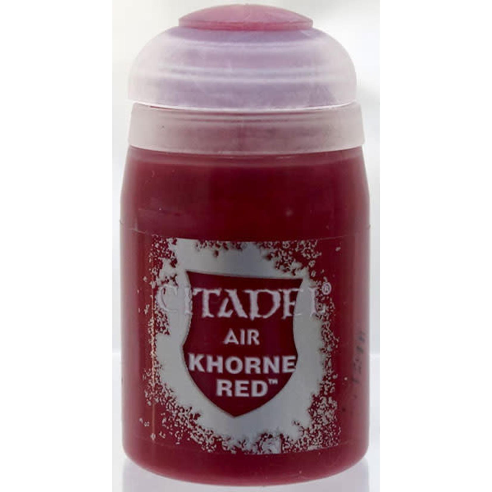 Games Workshop Citadel Paint: Khorne Red Air (24 ml)