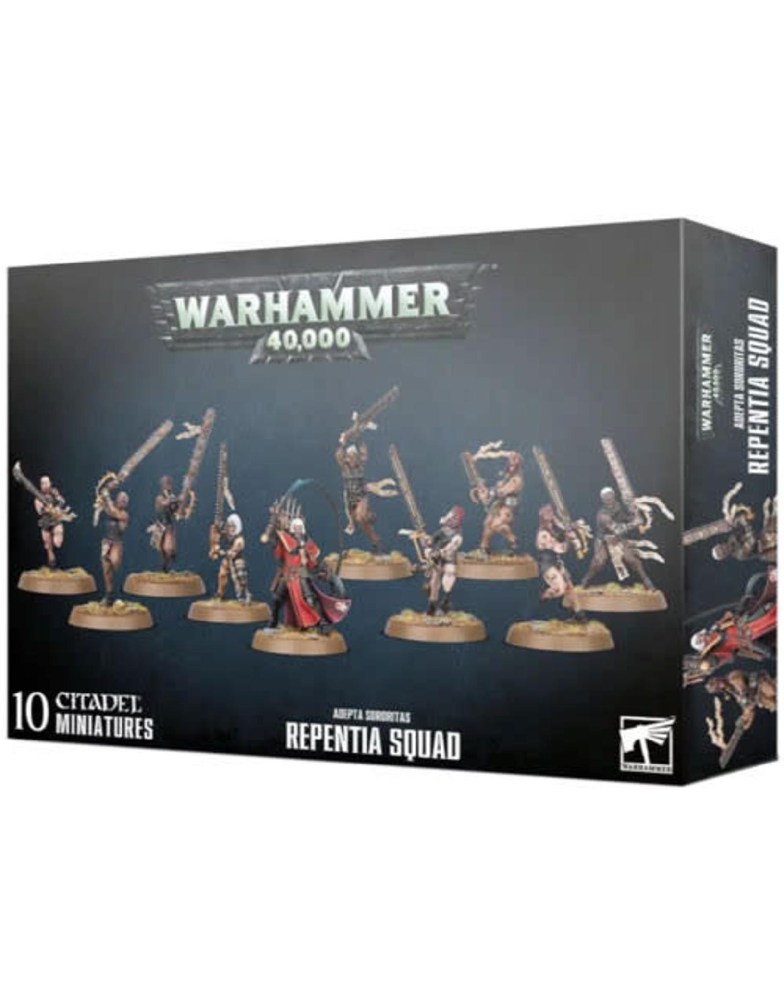 Adepta Sororitas Repentia Squad (40K)