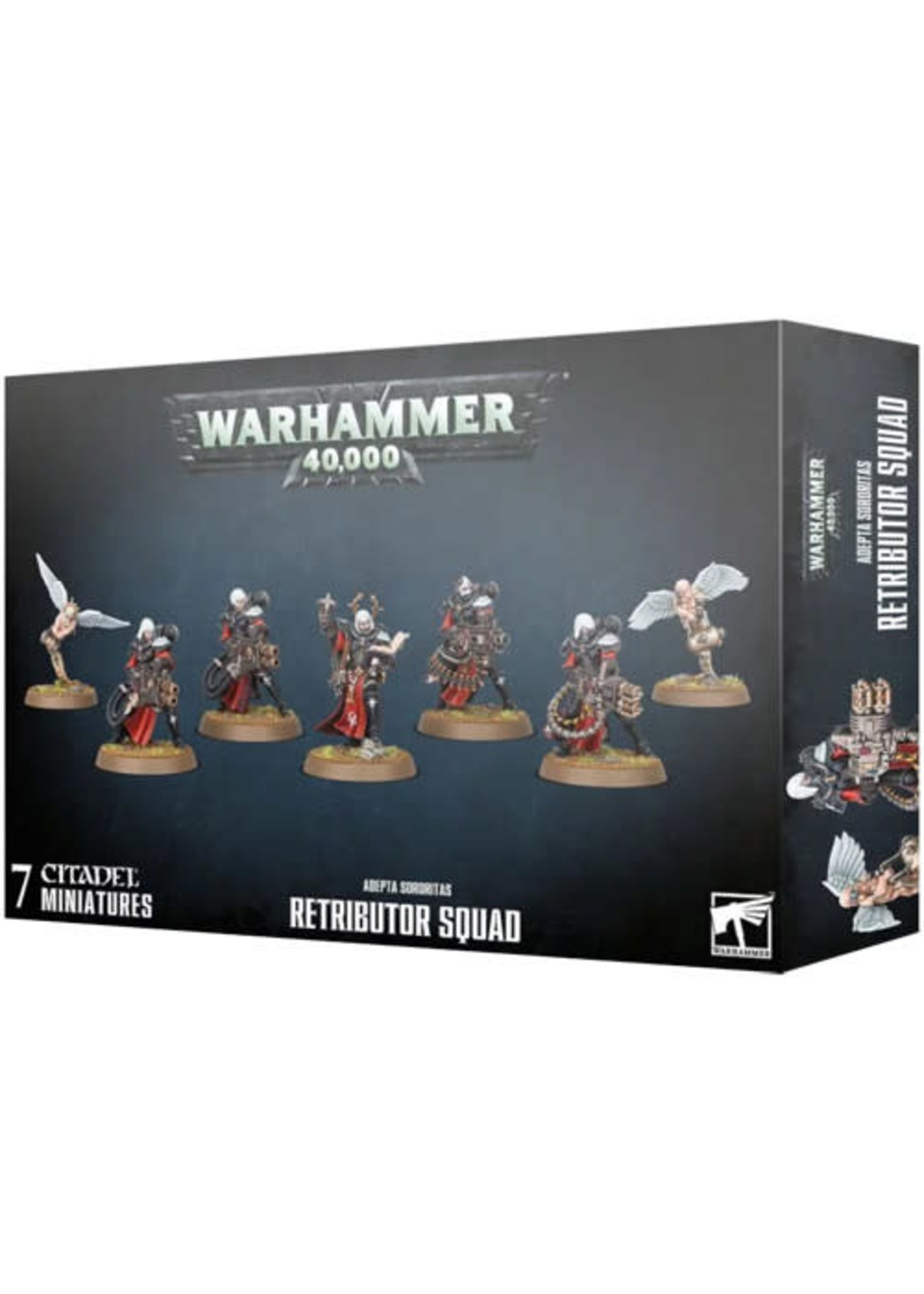 Games Workshop Adepta Sororitas Retributor Squad (40K)