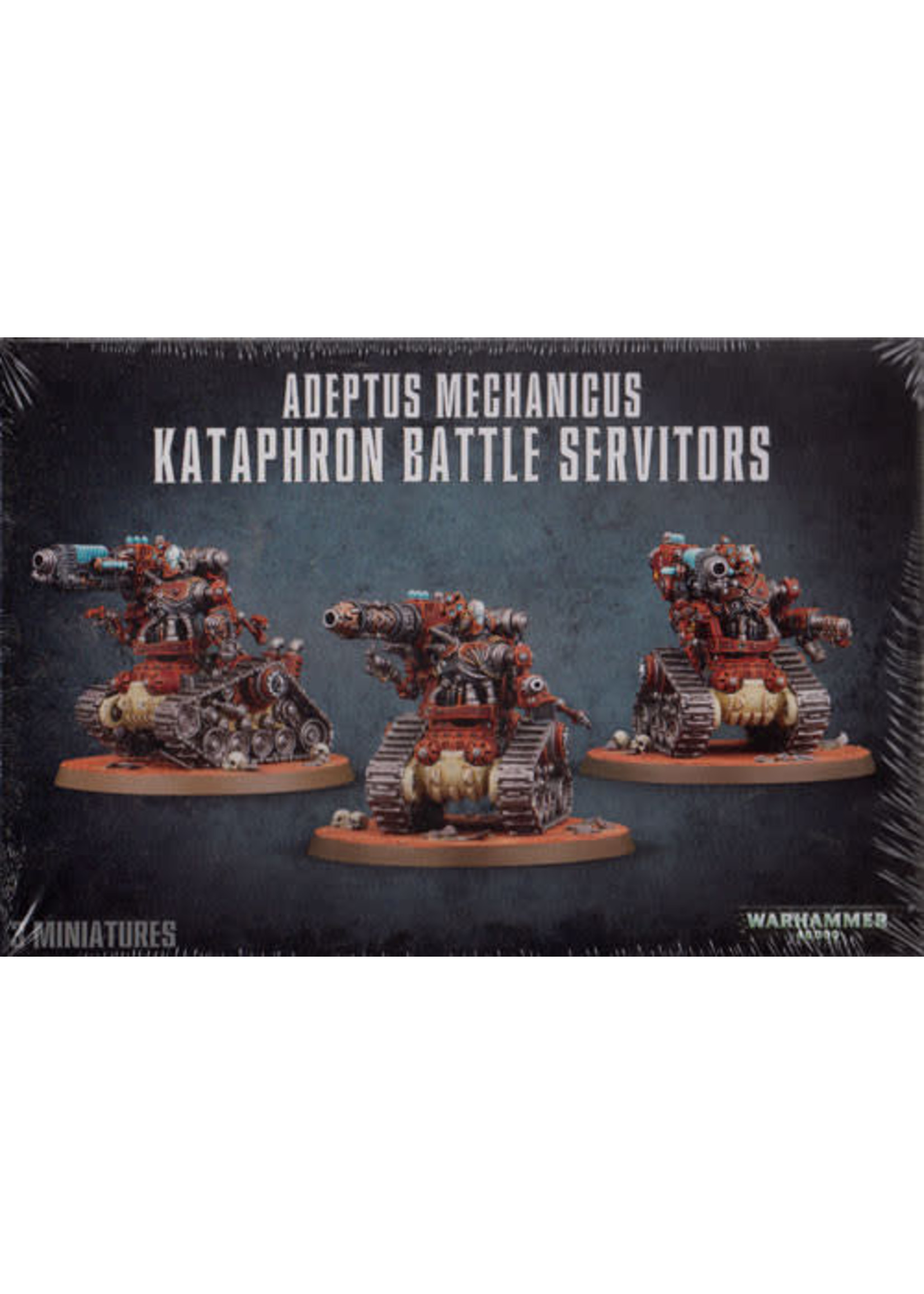 Games Workshop Adeptus Mechanicus Kataphron Battle Servitors (40K)