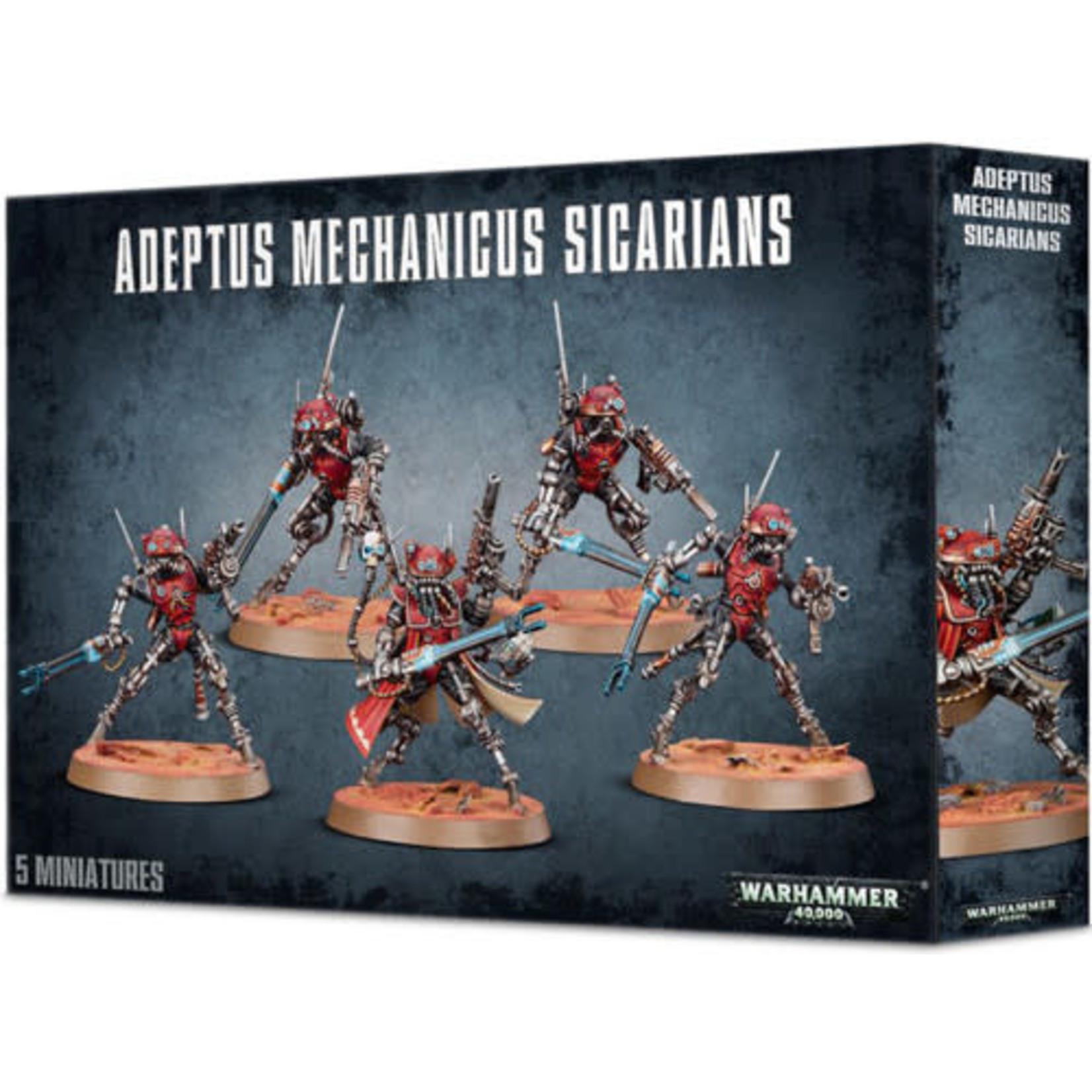 Games Workshop Adeptus Mechanicus Sicarians (40K)