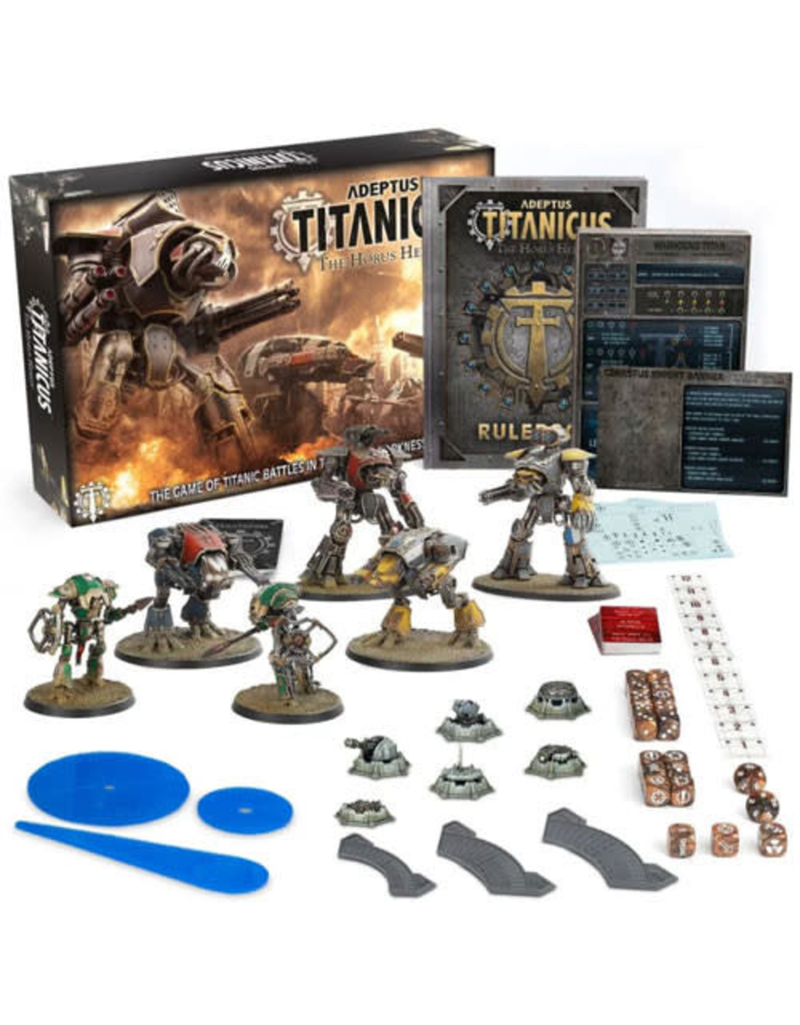 Games Workshop Adeptus Titanicus The Horus Heresy Starter Set