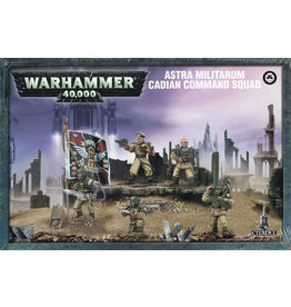 Games Workshop Astra Militarum Cadian Command Squad (40K)