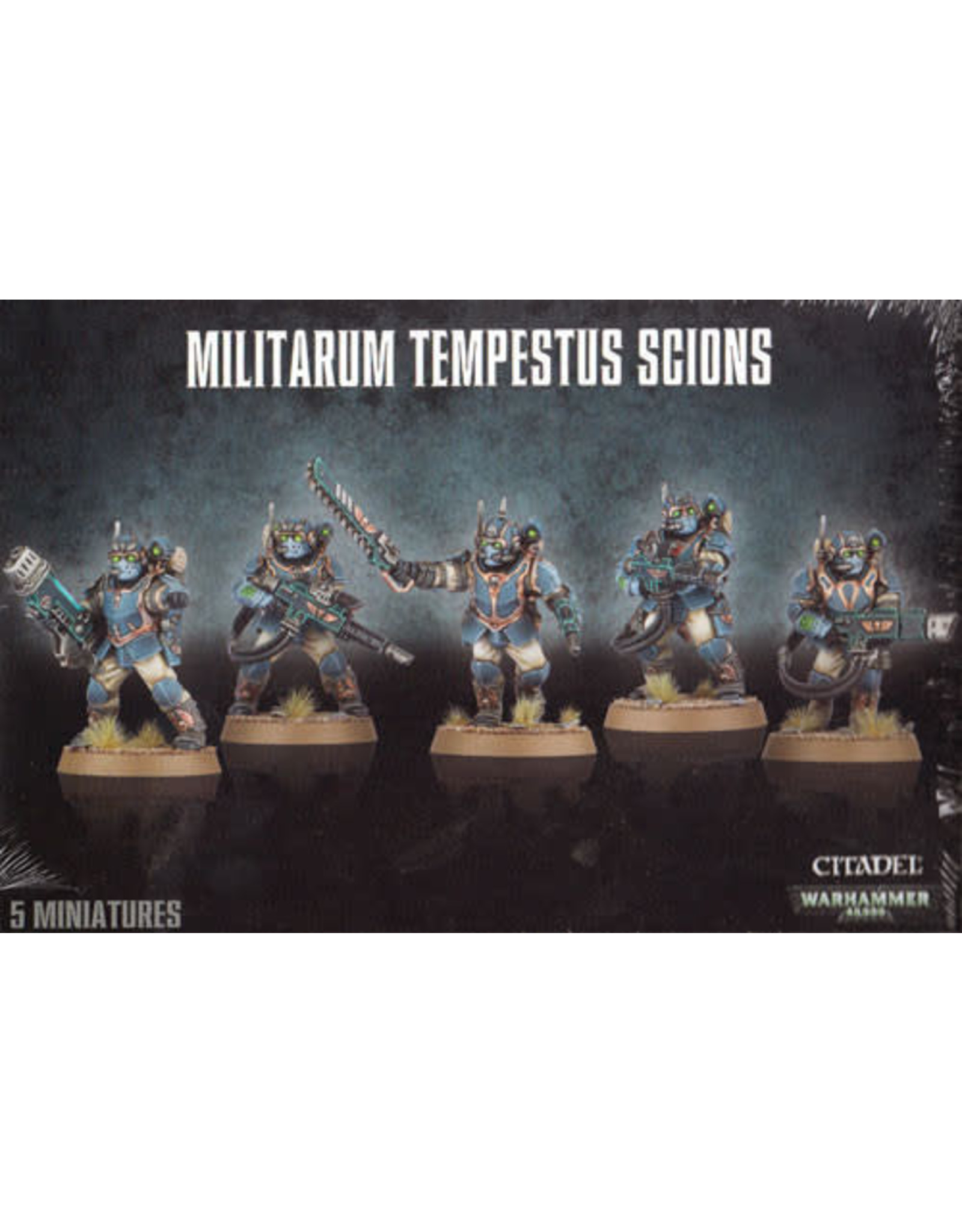 Games Workshop Astra Militarum Tempestus Scions (40K)