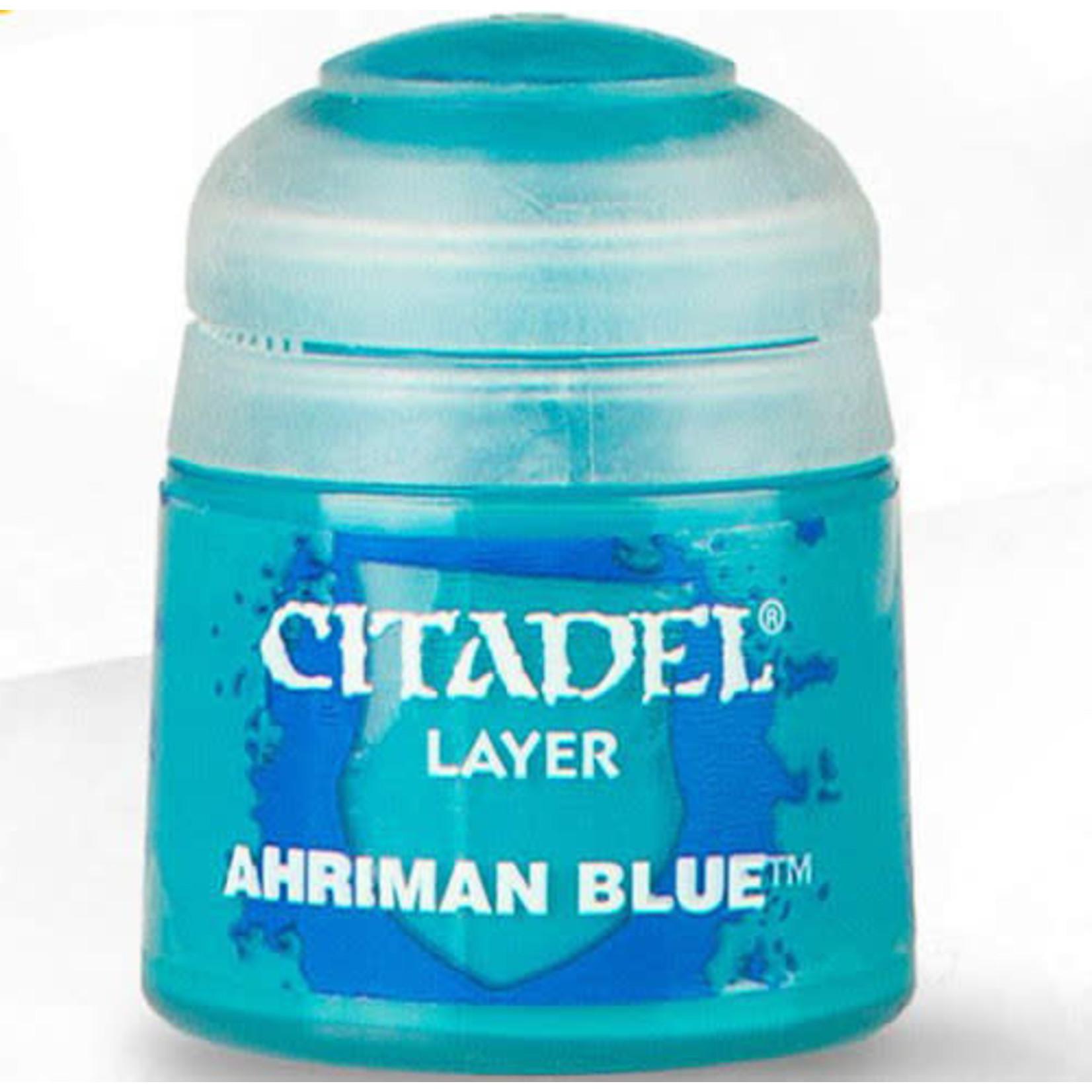 Games Workshop Citadel Paint: Ahriman Blue 12ml