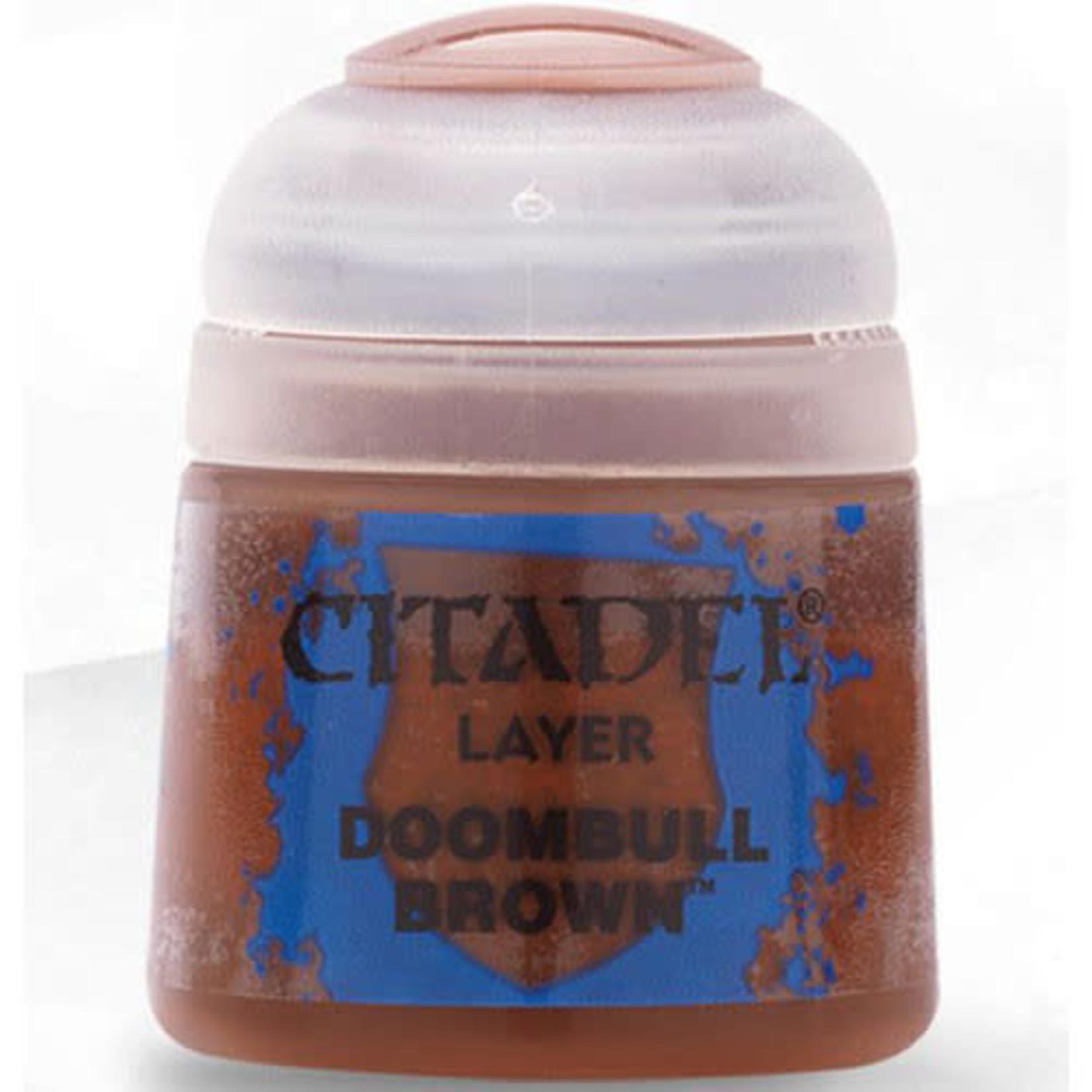 Games Workshop Citadel Paint: Doombull Brown 12ml