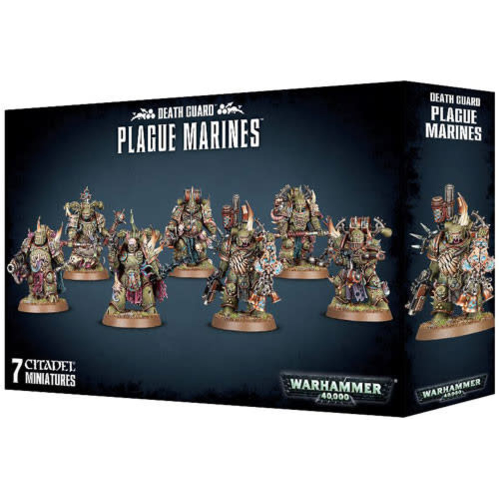 Games Workshop Death Guard Plague Marines (40K)