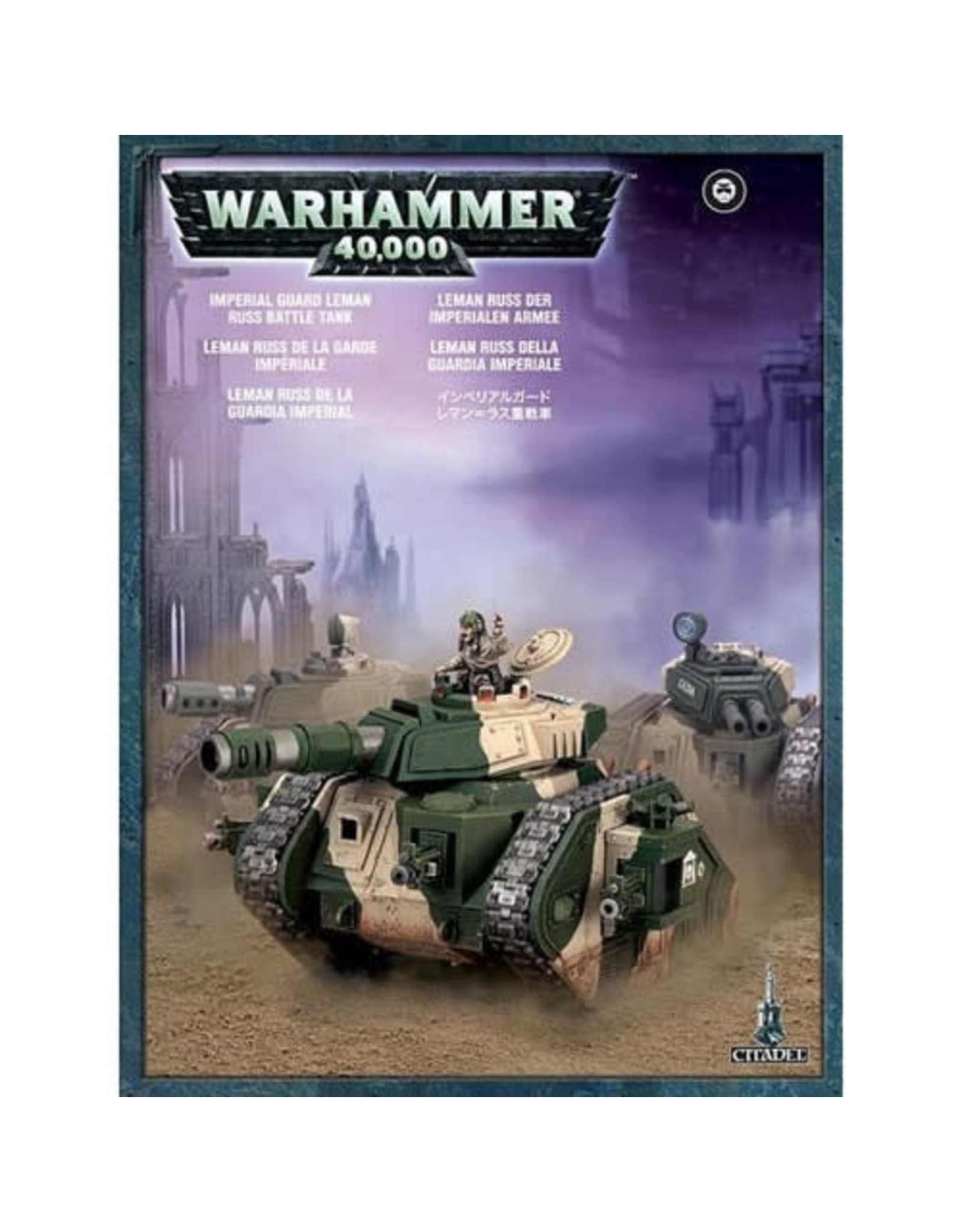 Games Workshop Imperial Guard Leman Russ Battle Tank (40K)