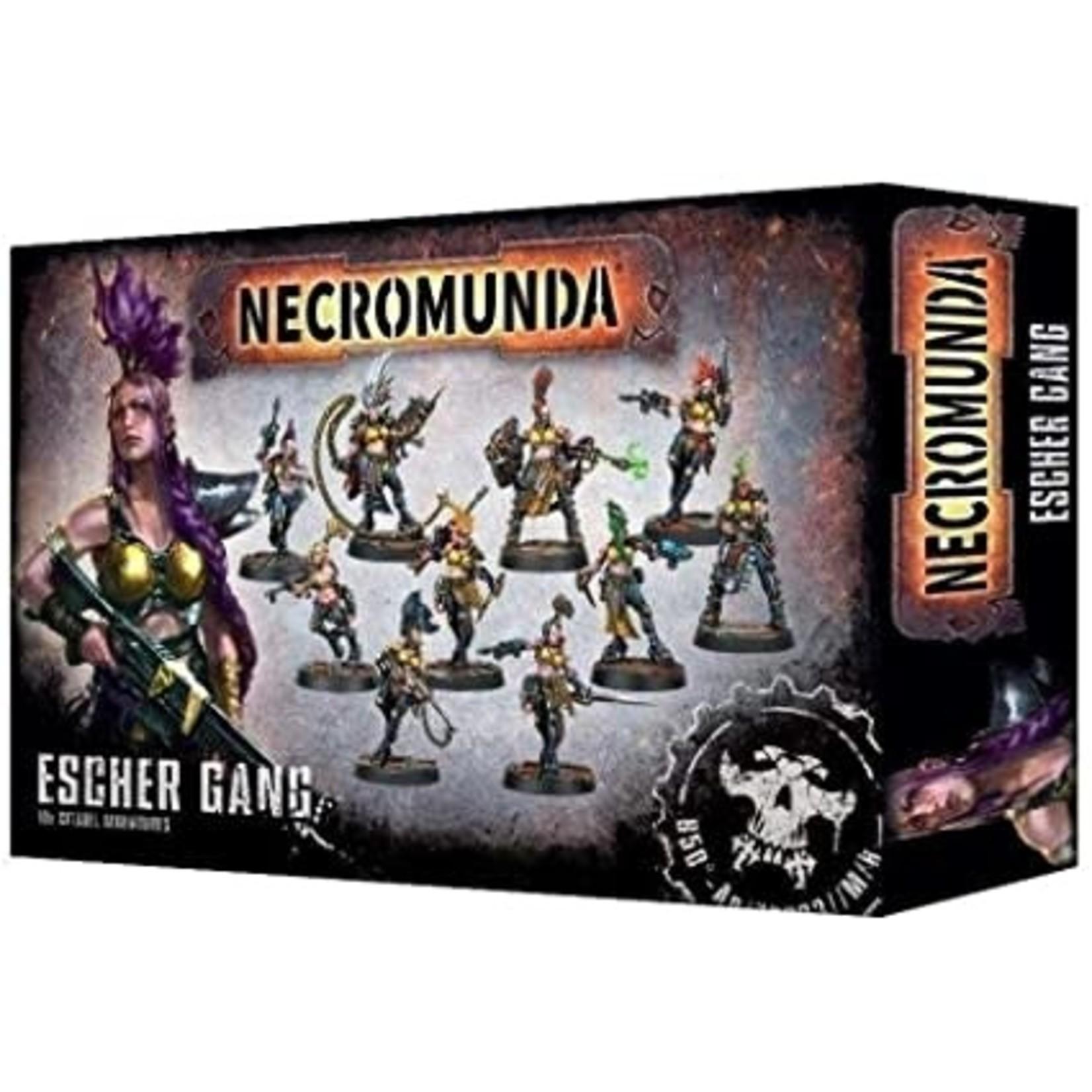 Games Workshop Necromunda Escher Gang