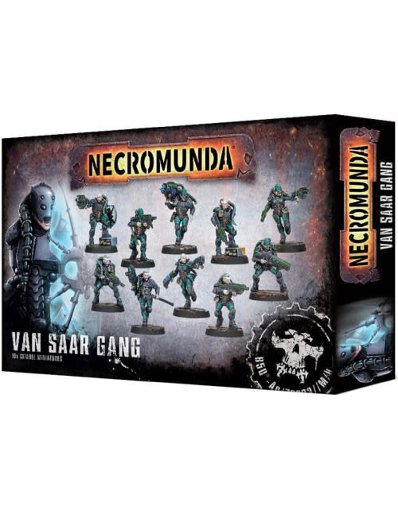 Games Workshop Necromunda Van Saar Gang