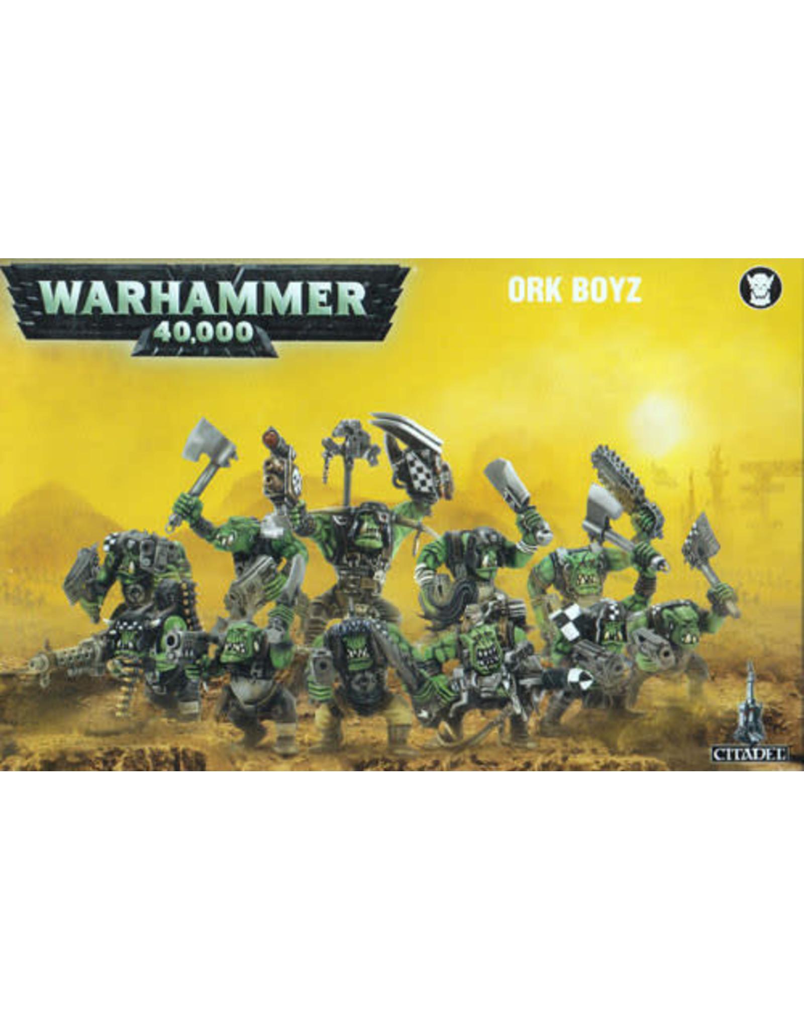 Games Workshop Ork Boyz (40K)