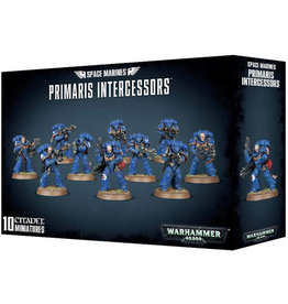 Games Workshop Space Marine Primaris Intercessors (40K)