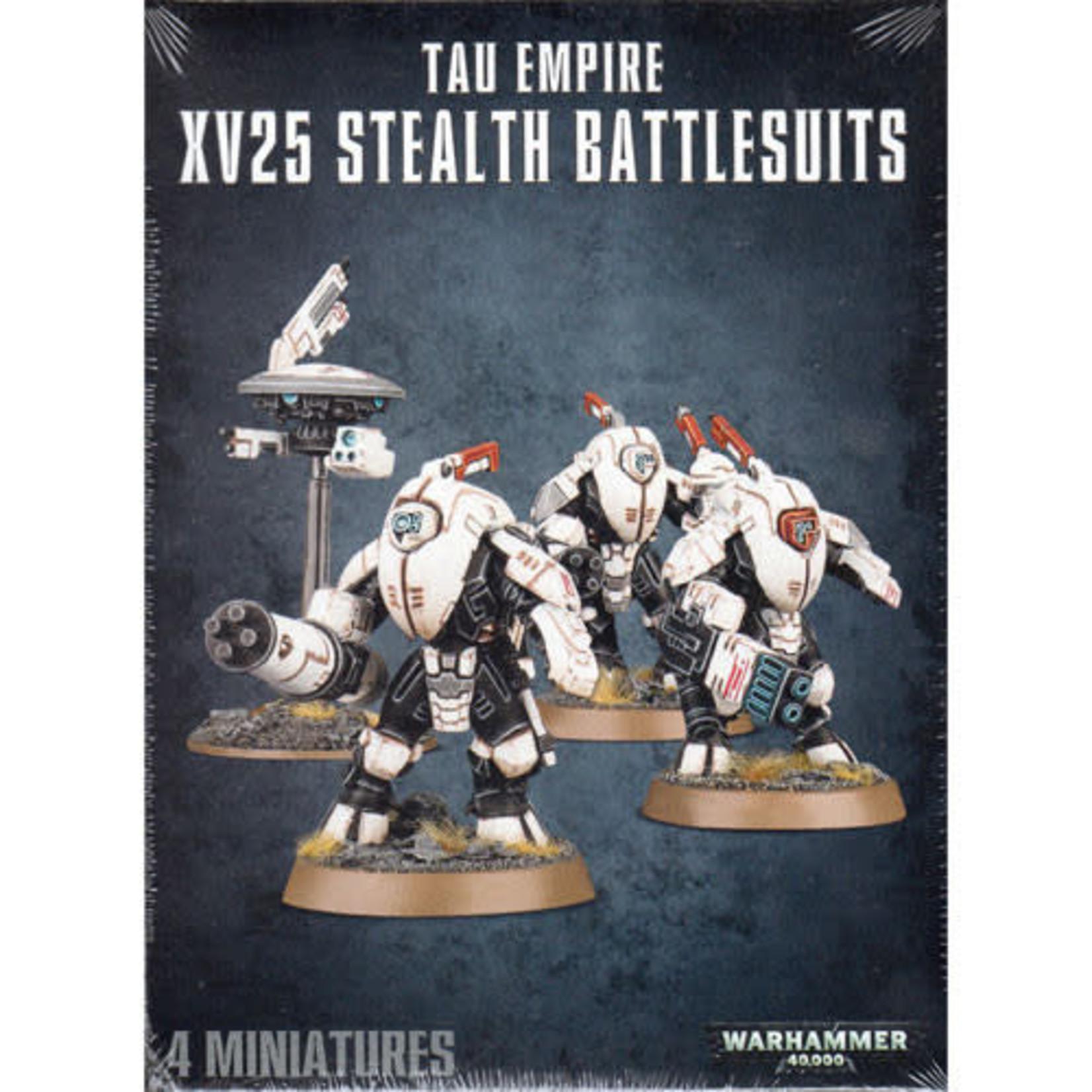 Games Workshop Tau XV25 Stealth Battlesuits (40K)