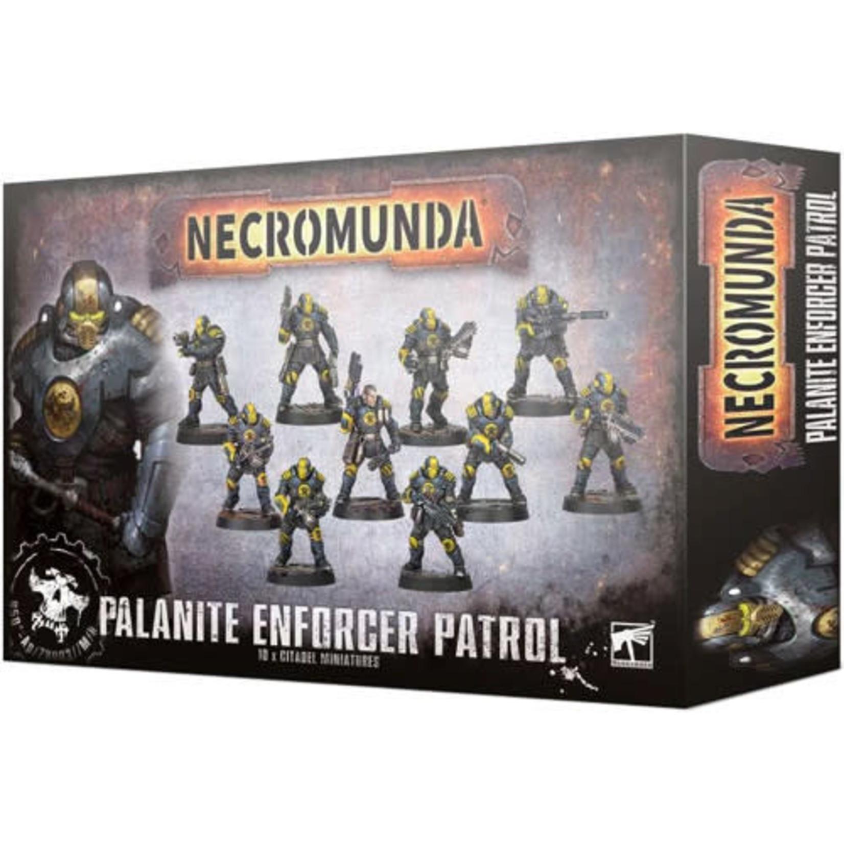 Games Workshop Necromunda Palanite Enforcer Patrol