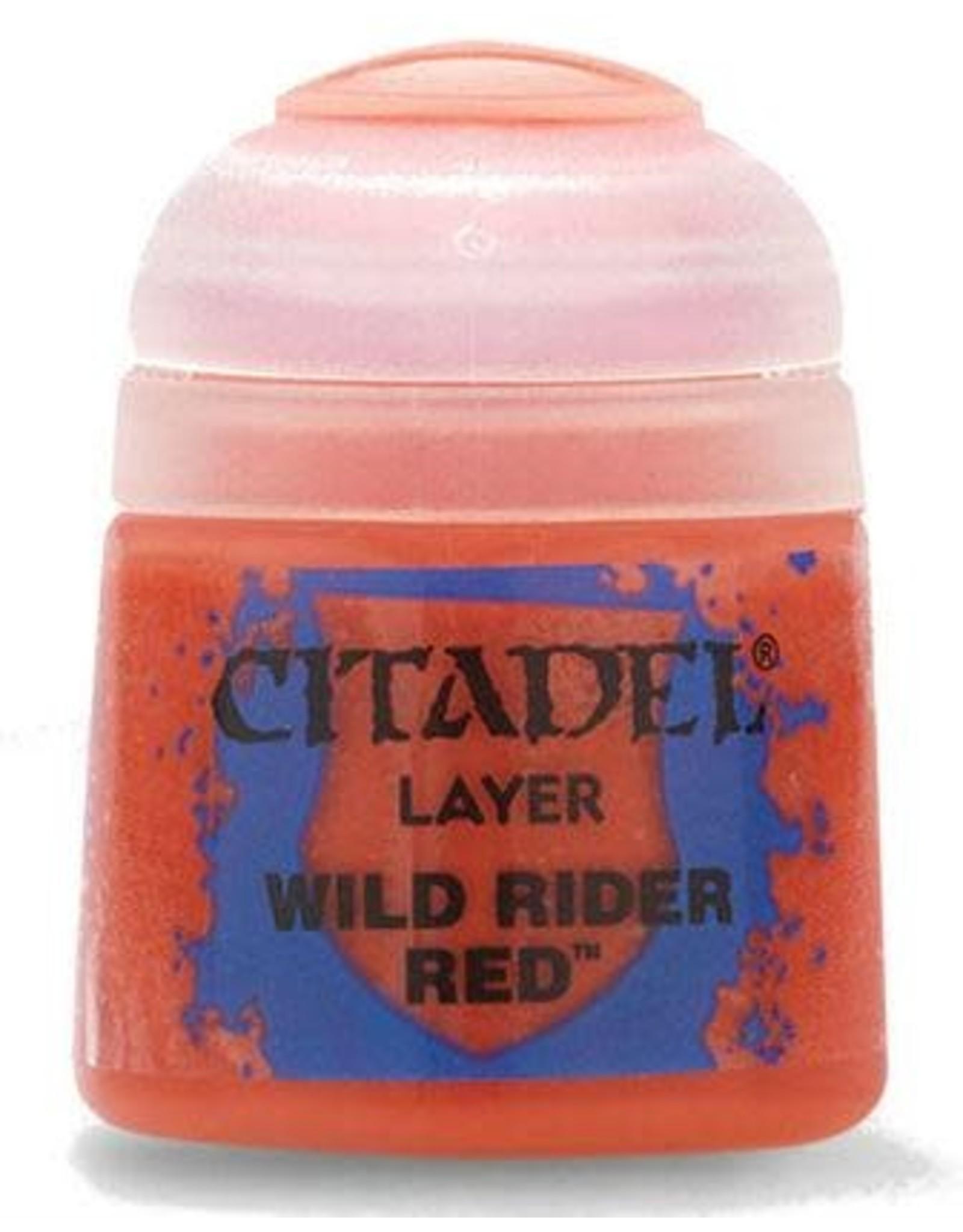 Games Workshop Citadel Paint: Wild Rider Red 12ml