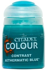 Games Workshop Citadel Paint: Aethermatic Blue Contrast (18 ml)