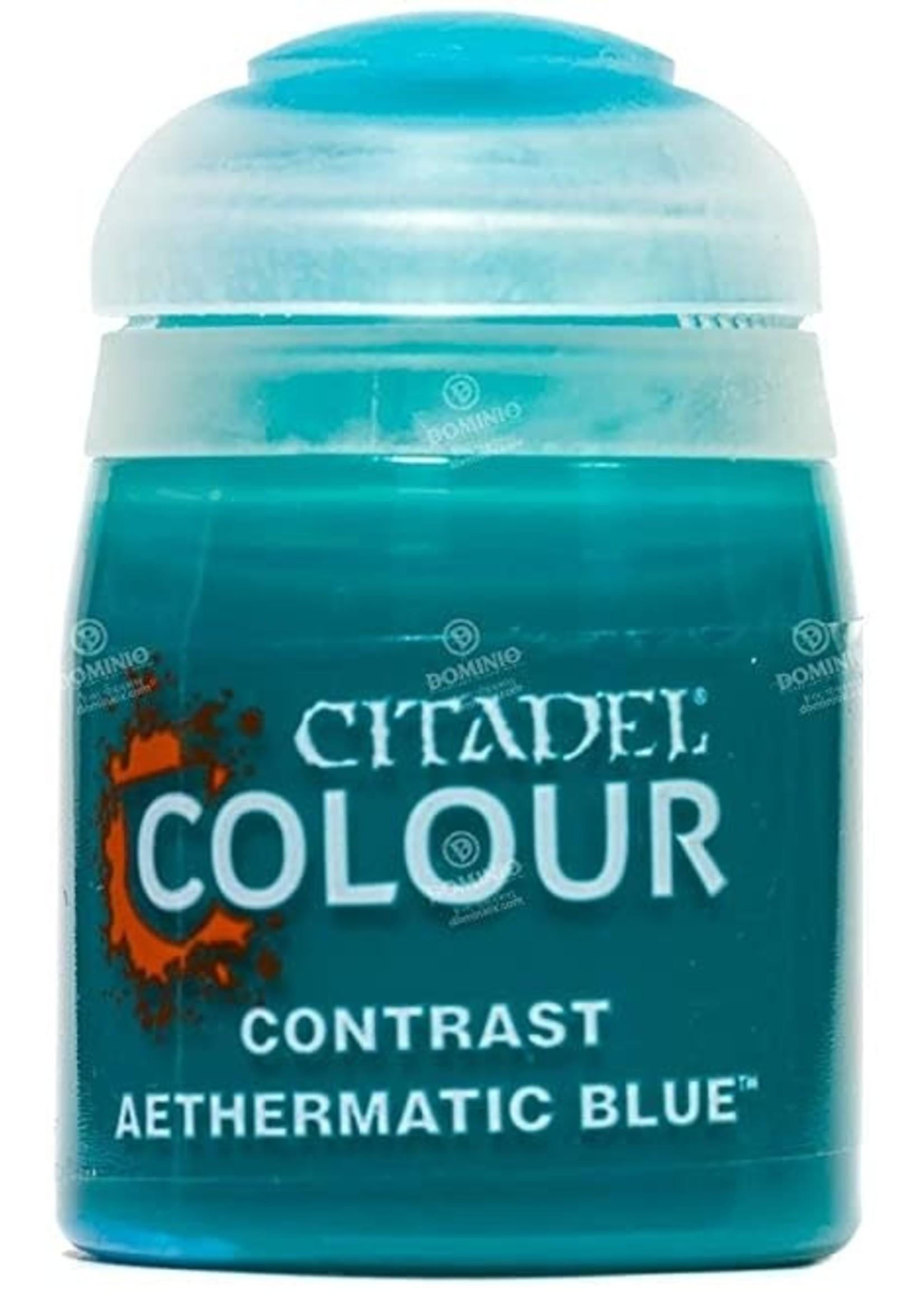 Games Workshop Citadel Paint: Aethermatic Blue Contrast (18 ml)