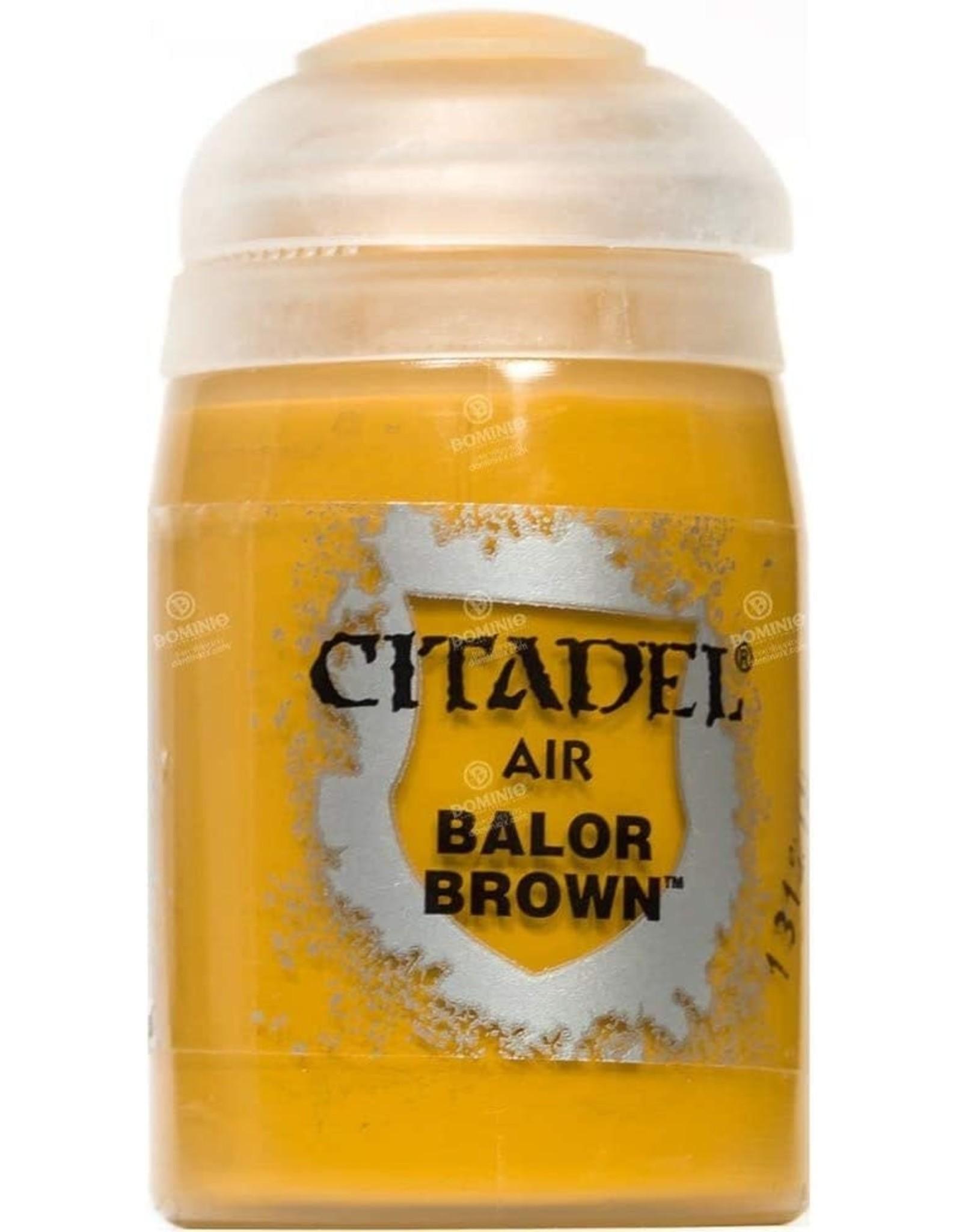 Games Workshop Citadel Paint: Balor Brown Air (24 ml)