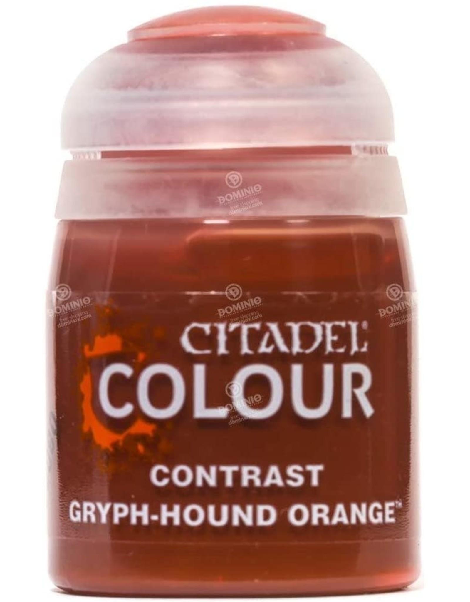 Games Workshop Citadel Paint: Gryph-hound Orange Contrast (18 ml)