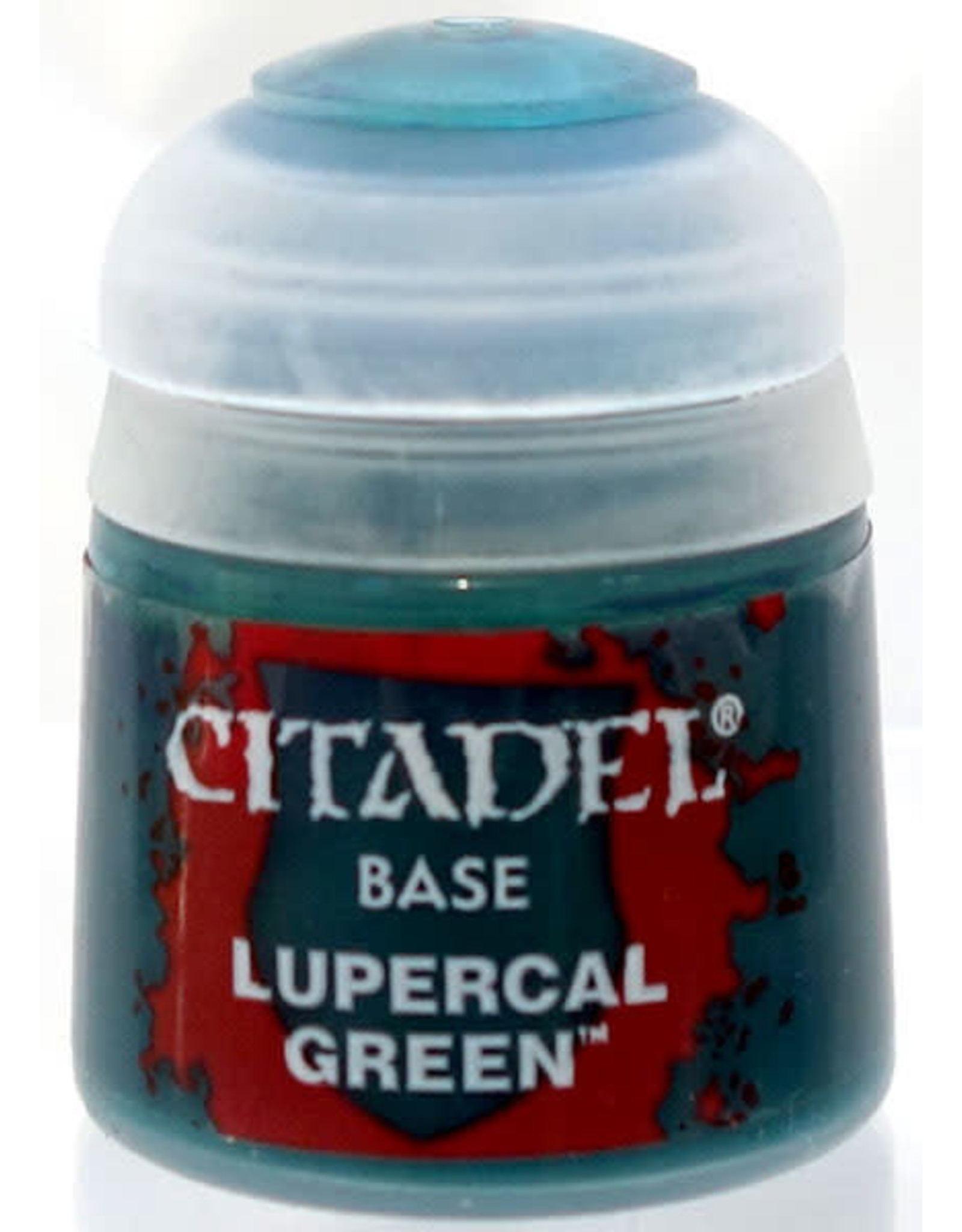 Games Workshop Citadel Paint: Lupercal Green Base 12 ml